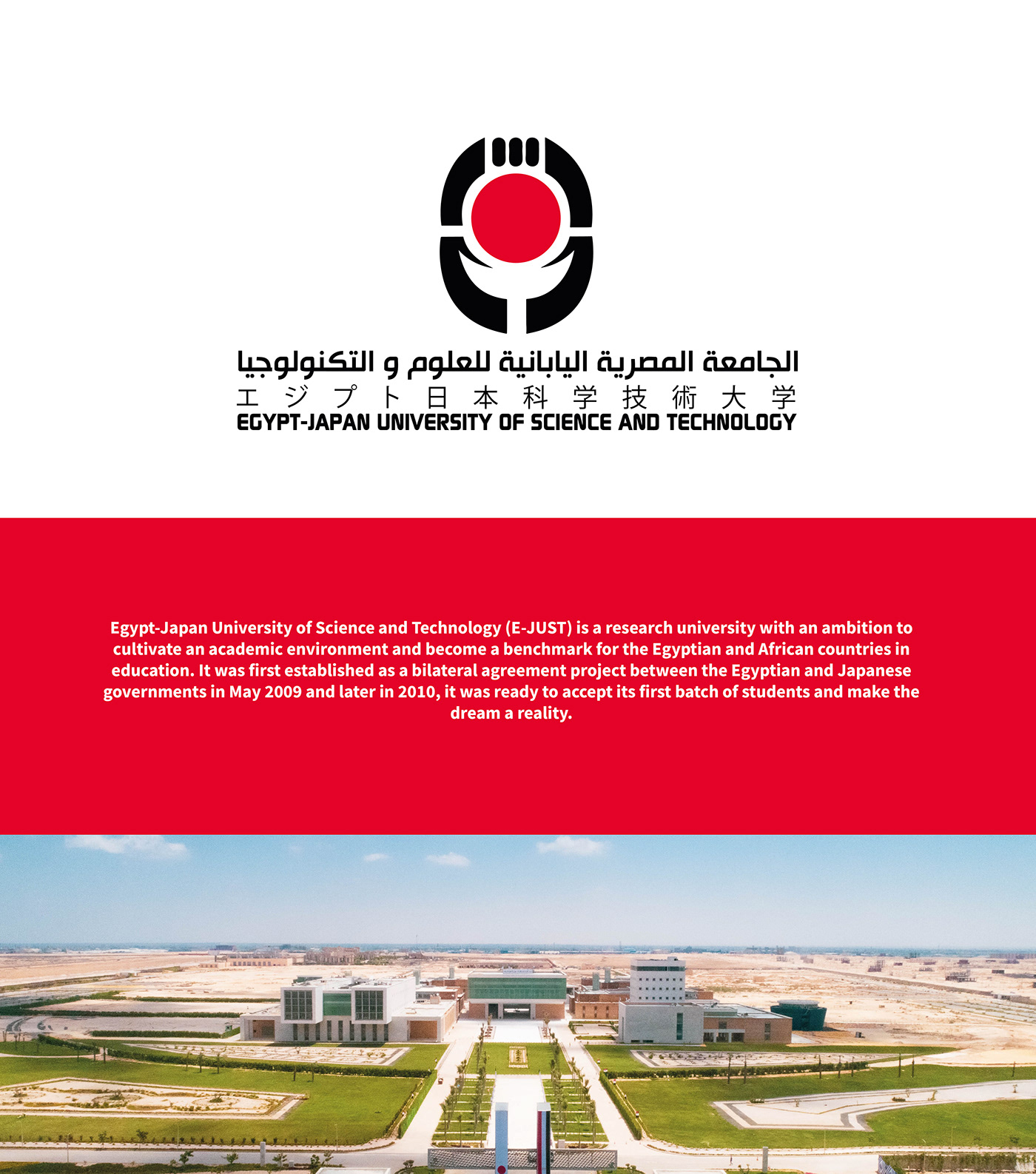 egypt japan rebranding science Technology University