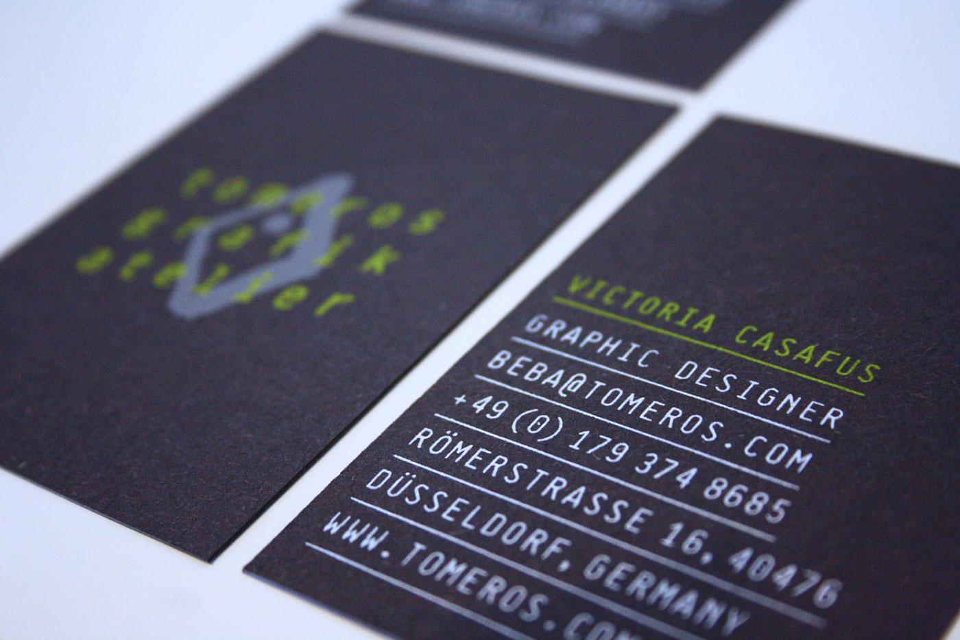 Business Cards - Silkscreen on Behance