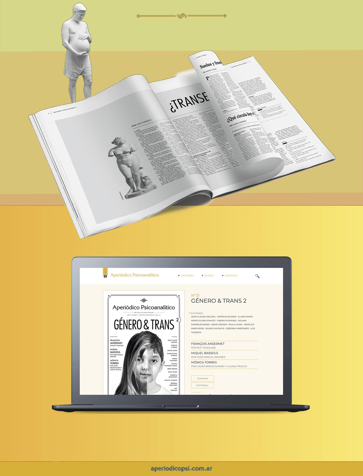 Psicoanalisis periodico magazine newspaper