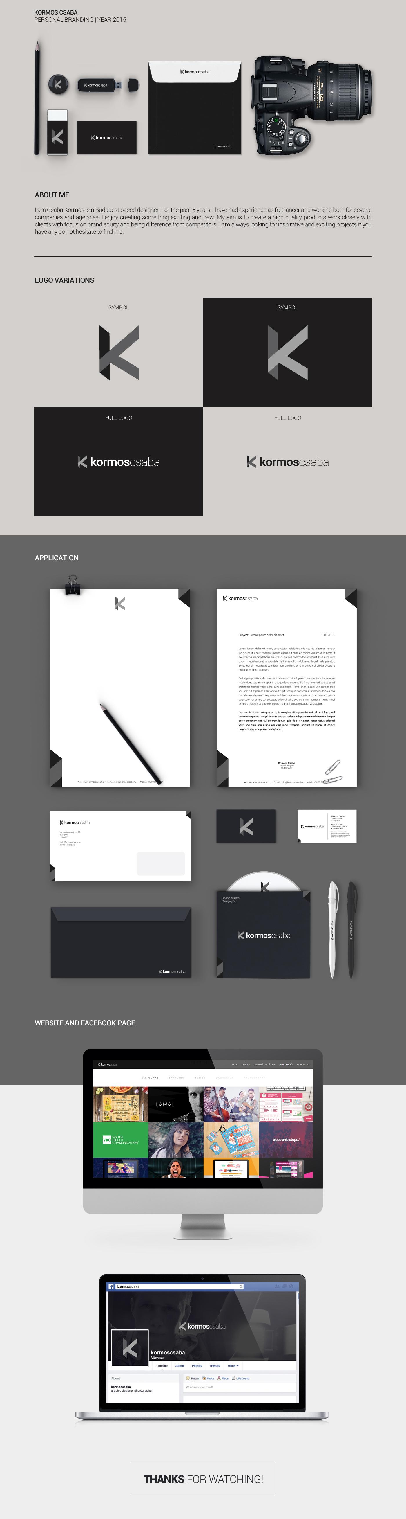 personal branding self self branding personal identity logo Webdesign facebook