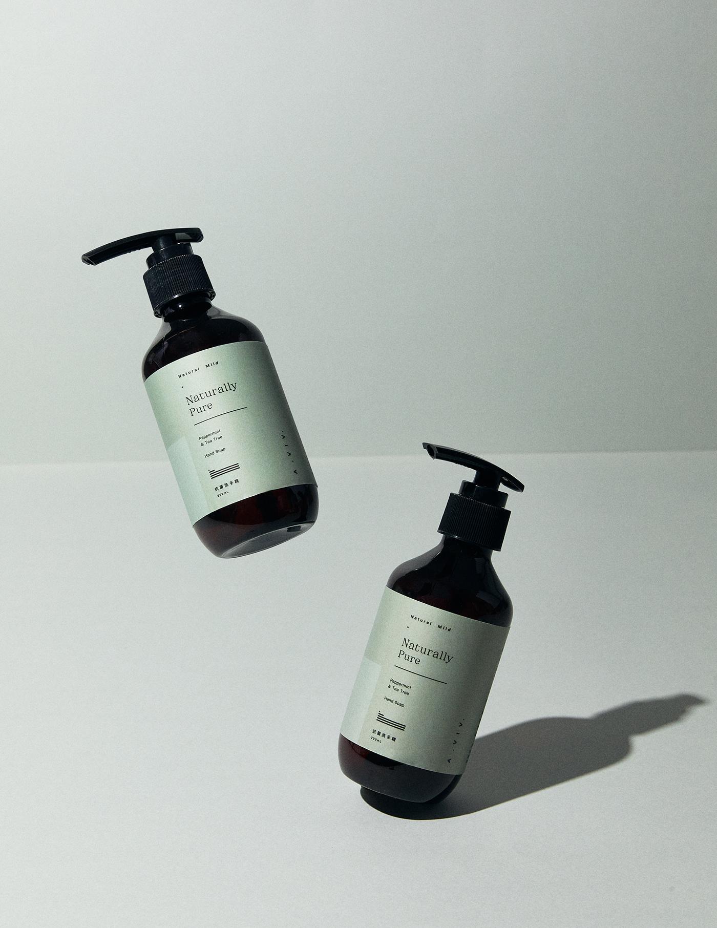 clean design hand wash Packaging Photography  print 包裝設計 印刷 攝影