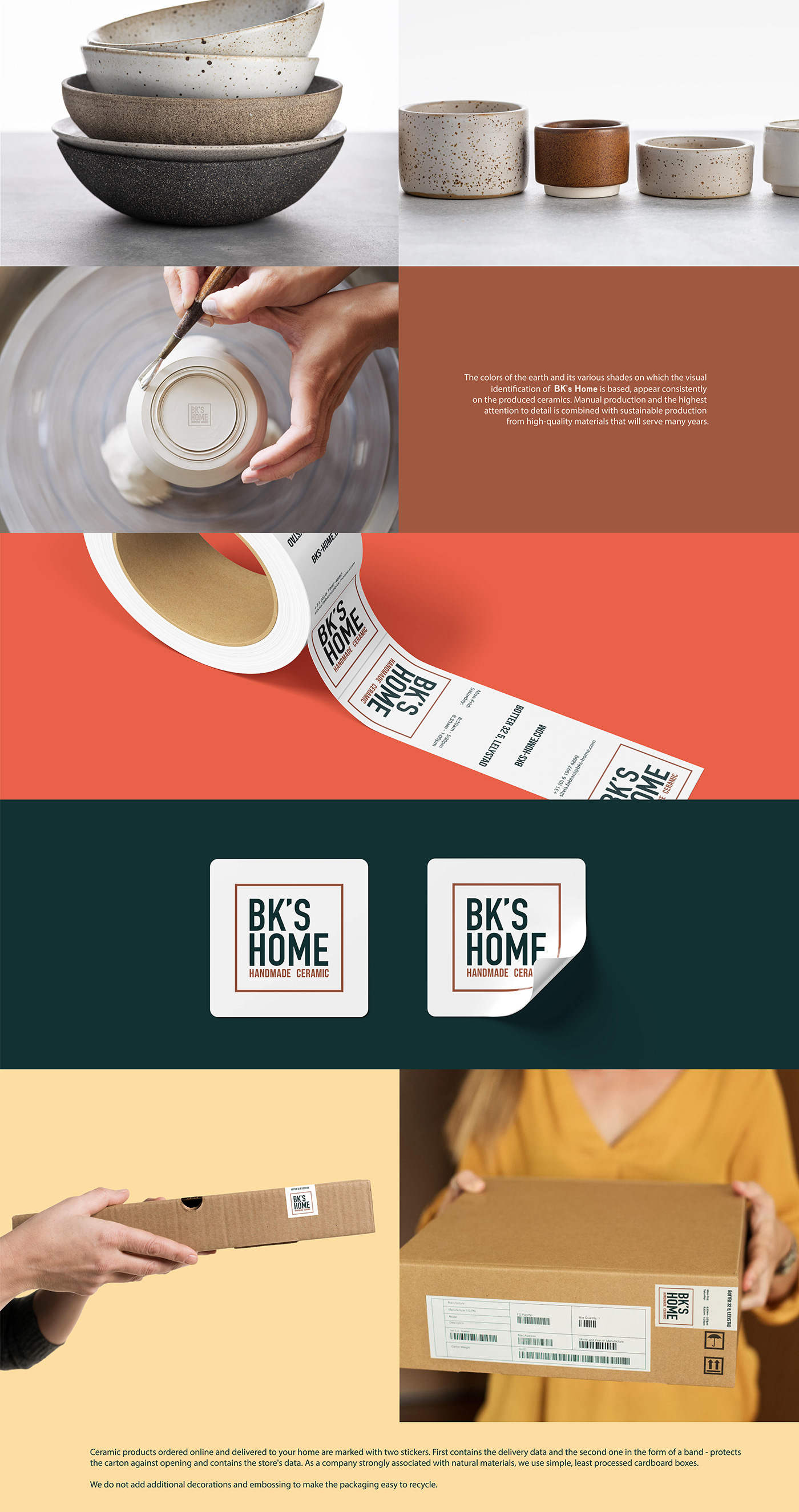 clay Pottery pottery business card Pottery House pottery identity pottery stickers pottery workshop branding