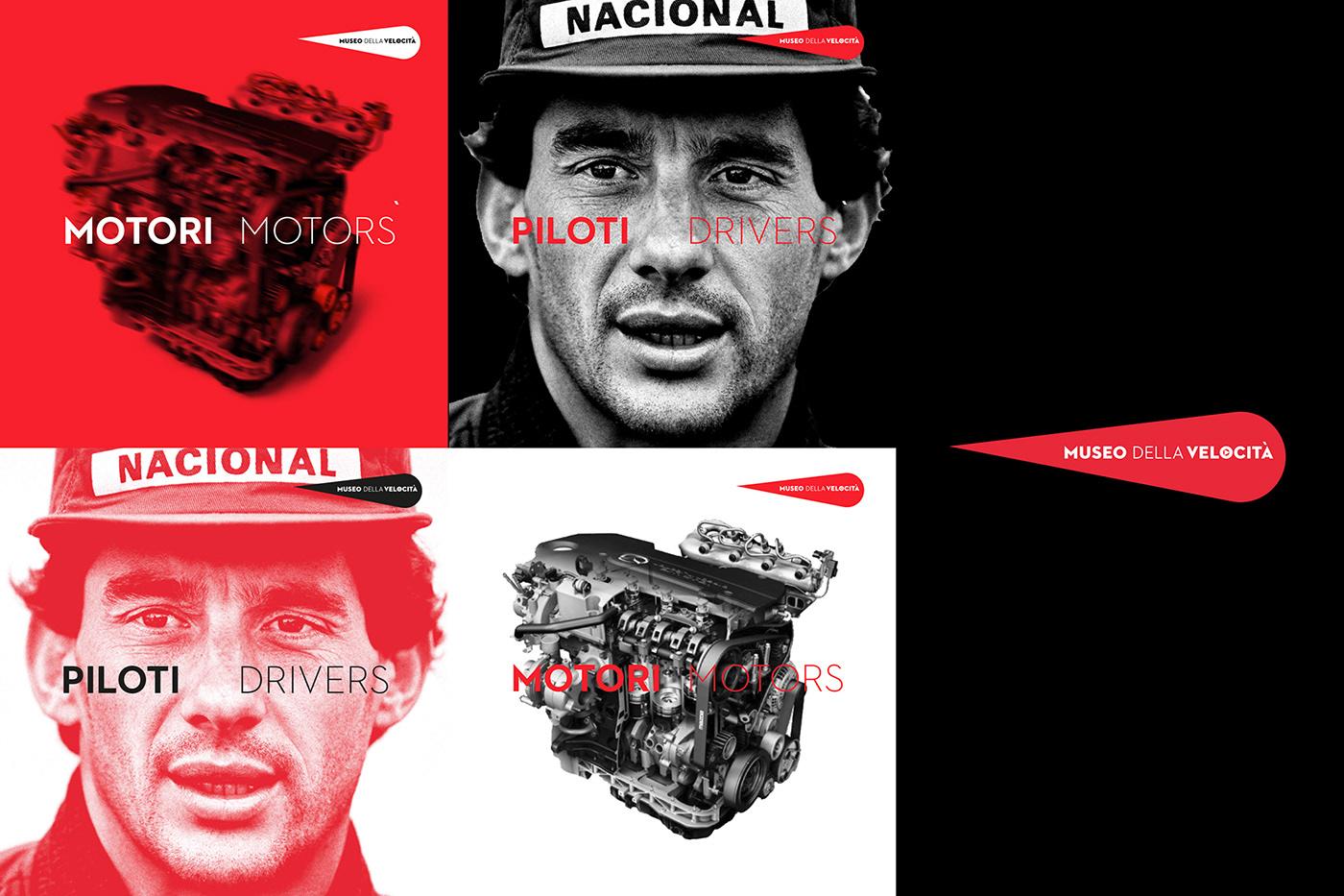 Autodromo speed Formula1 Exhibition  monza racetrack moto Brand Image museum identity