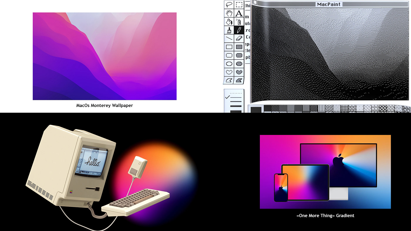 3D ad c4d Macintosh macos motion design octane smooth vintage