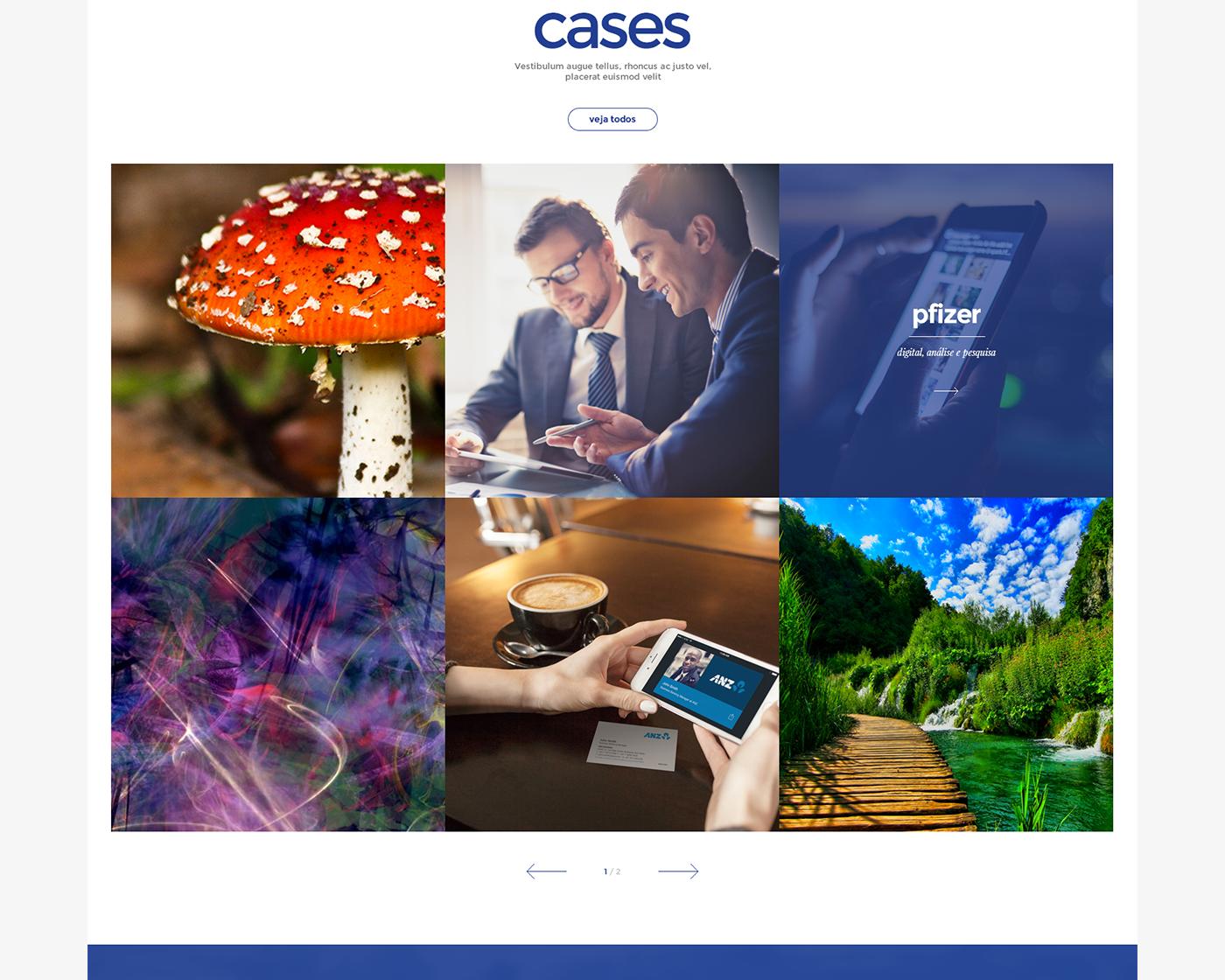 UI/UX Web designer portal site