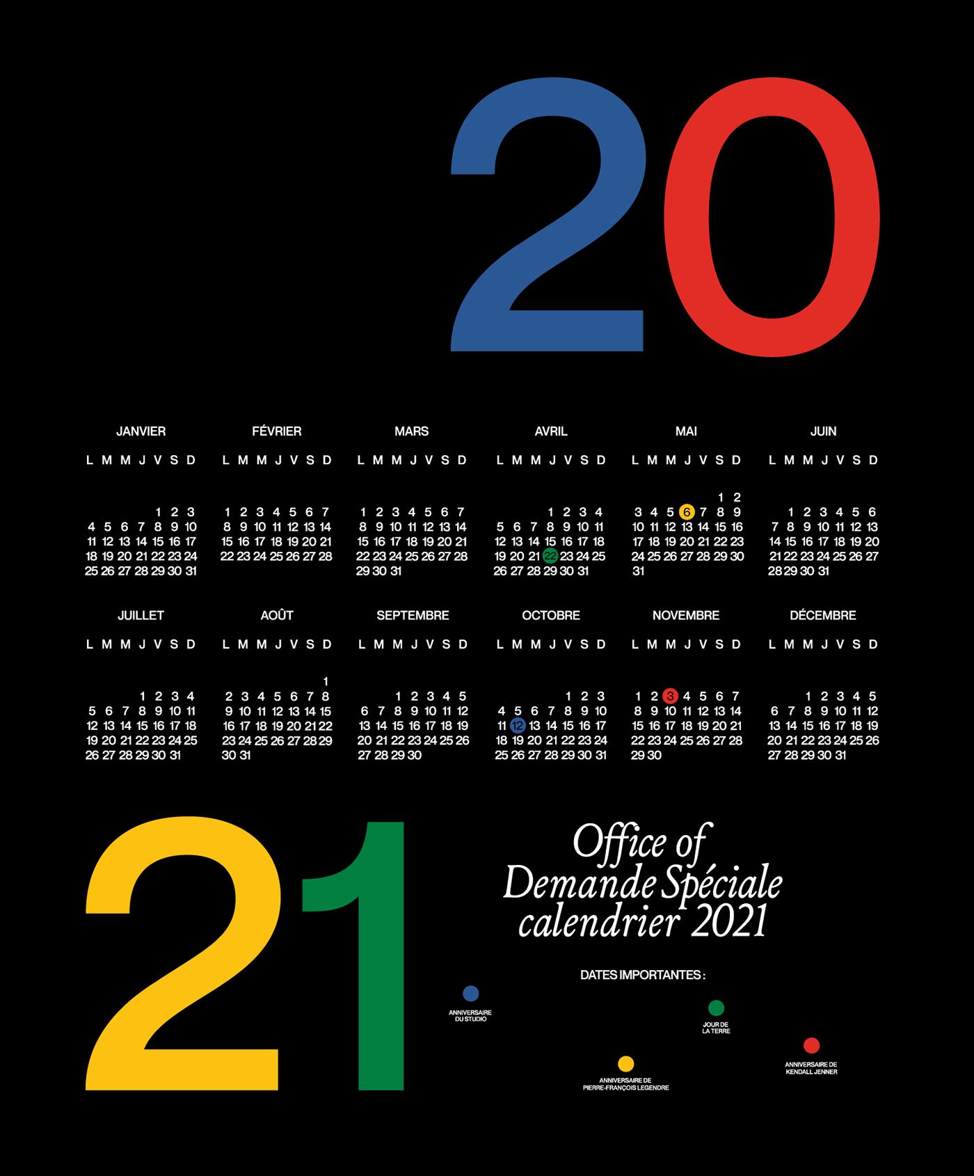 calendar Fashion  graphic design