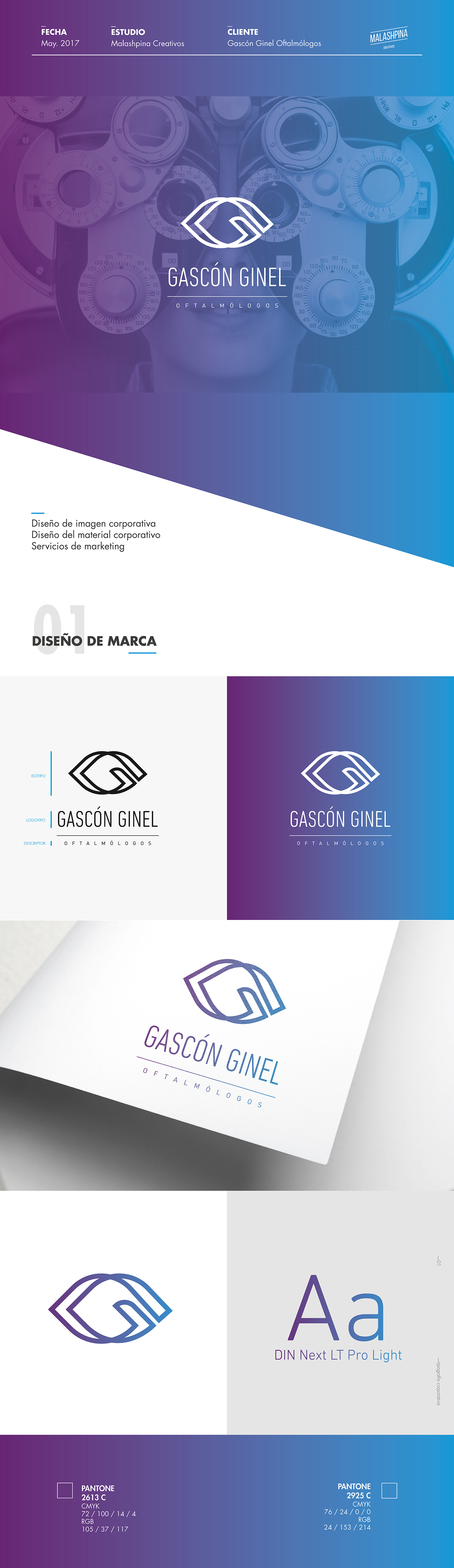 branding ,brand,design,graphic design ,Brand stationery,granada,malaga,ophthalmologist,oculist,Corporate Stationery