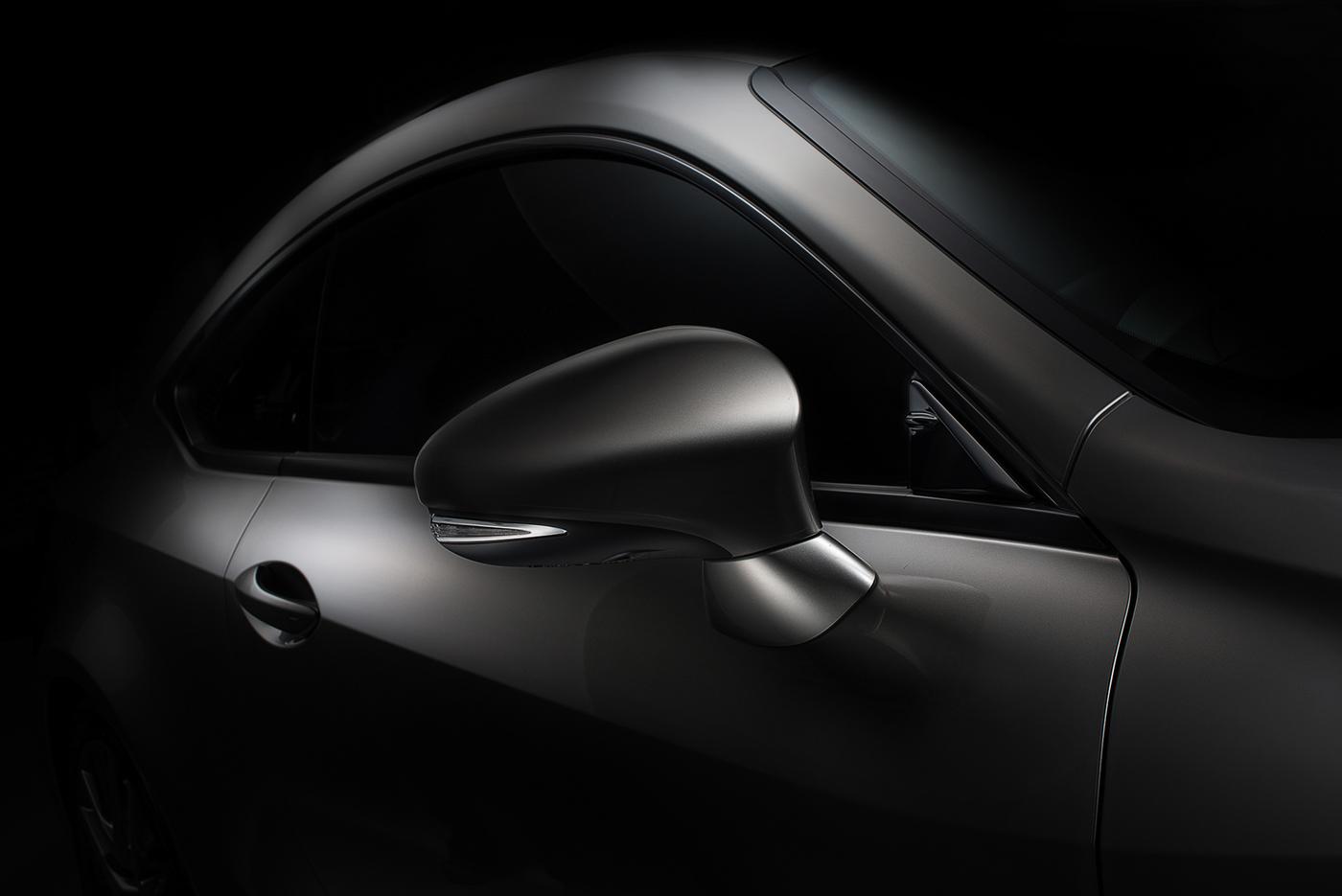 Fine Art Car Photography Lexus Rc350 Fdl Technique On Behance