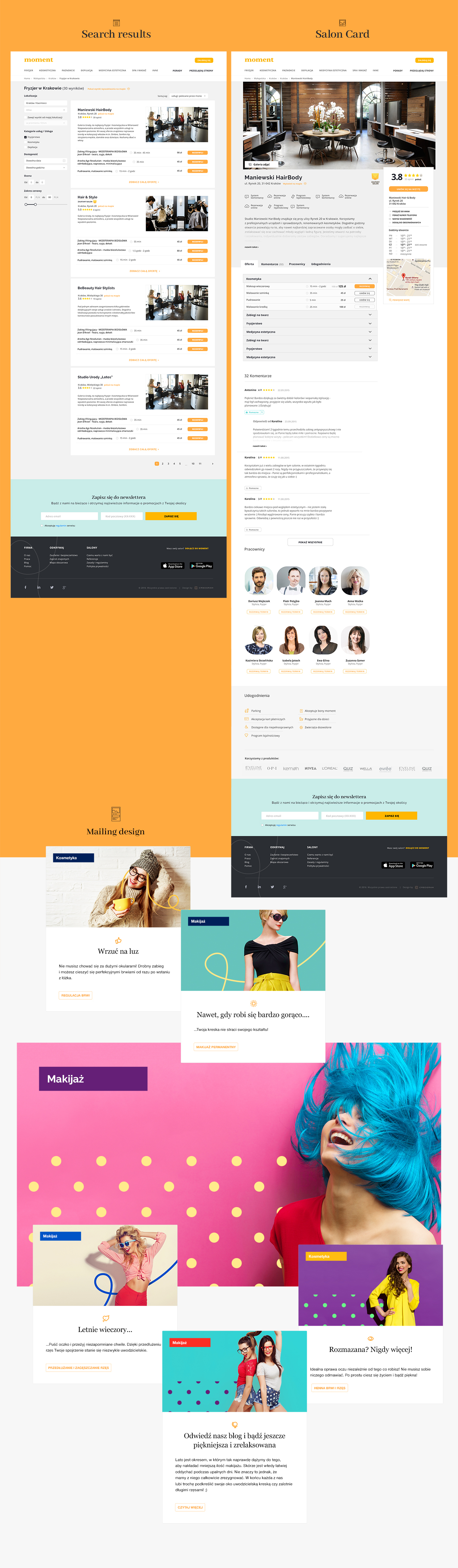 beauty,color,Webdesign,branding ,ILLUSTRATION ,salon,logo,yellow,colorful,Photography