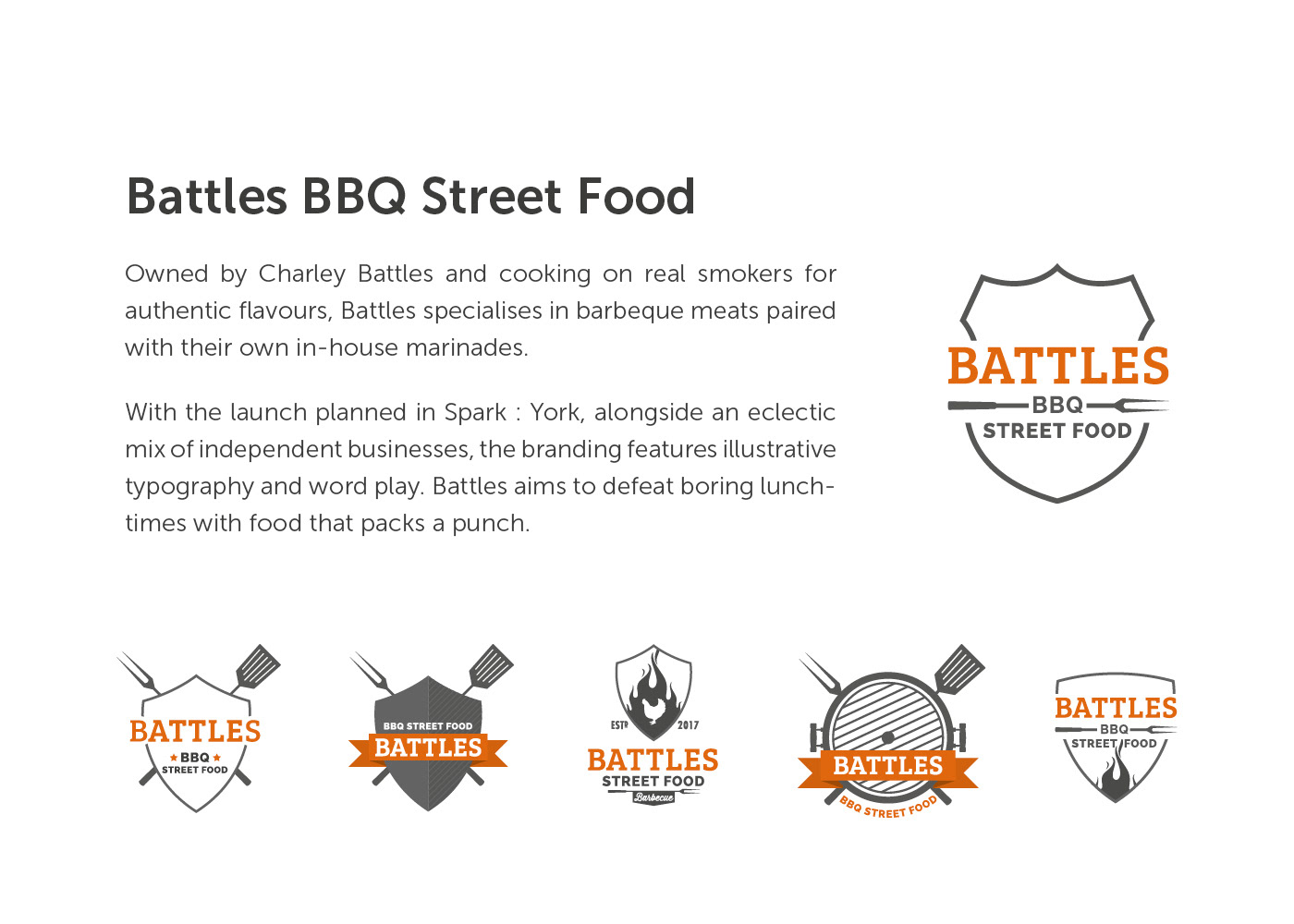 BBQ Food  branding  Logo Design logo visual identity Packaging label design lettering typography