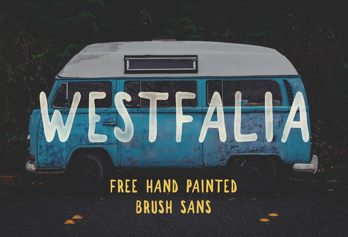Westfalia Font Download