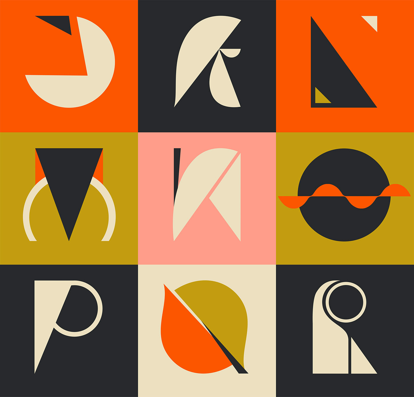 36days 36daysoftype Brutalism font graphicdesign lettering Logotype type typography