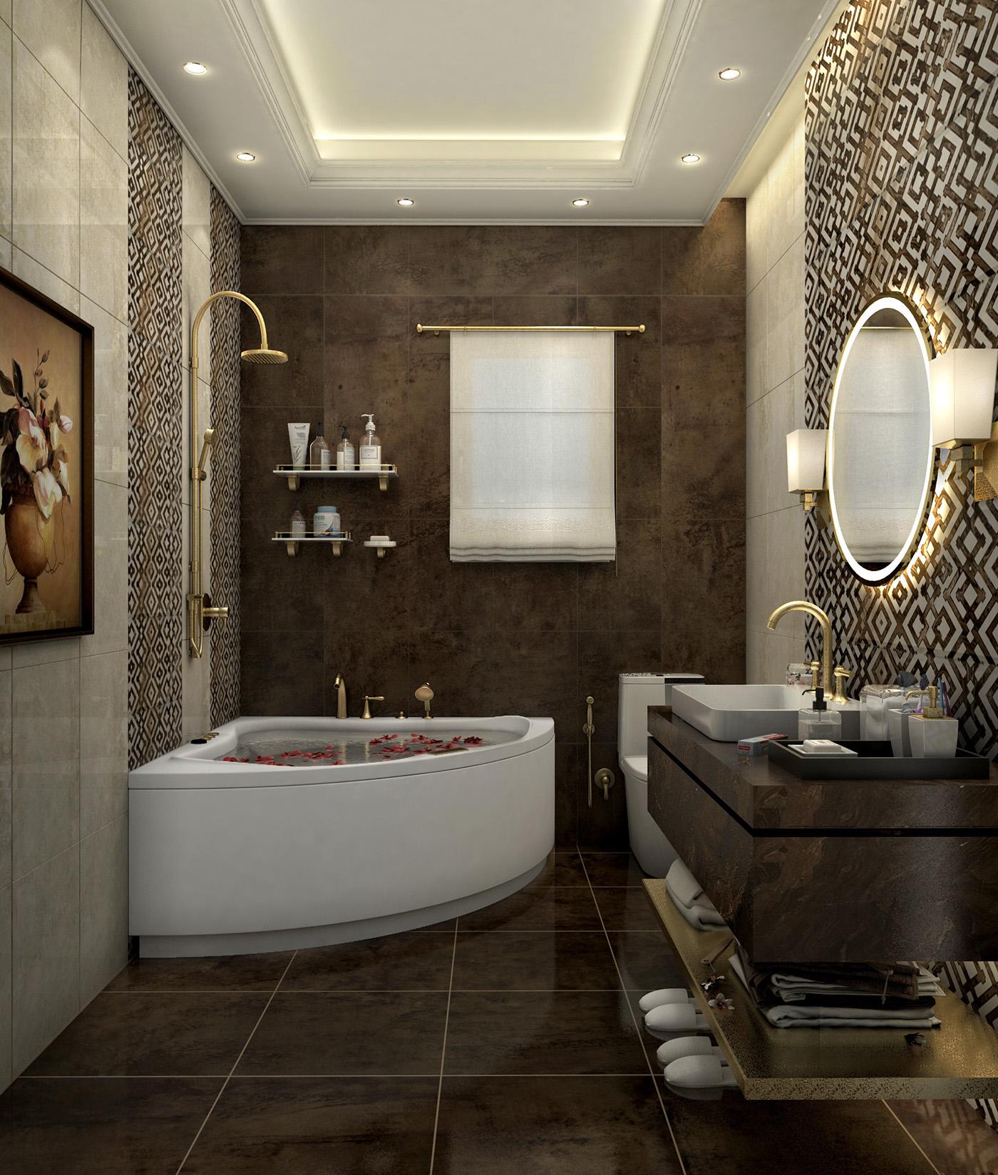 Apartment Bathroom Interior Design Master Bathroom Ideas: Solik Apartment On Behance