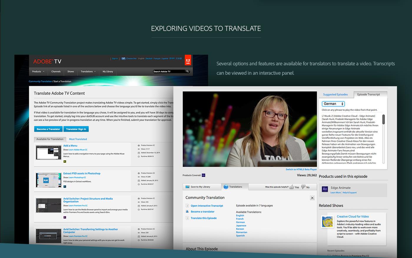 adobe Platform Custom Development software video tv Adobe TV