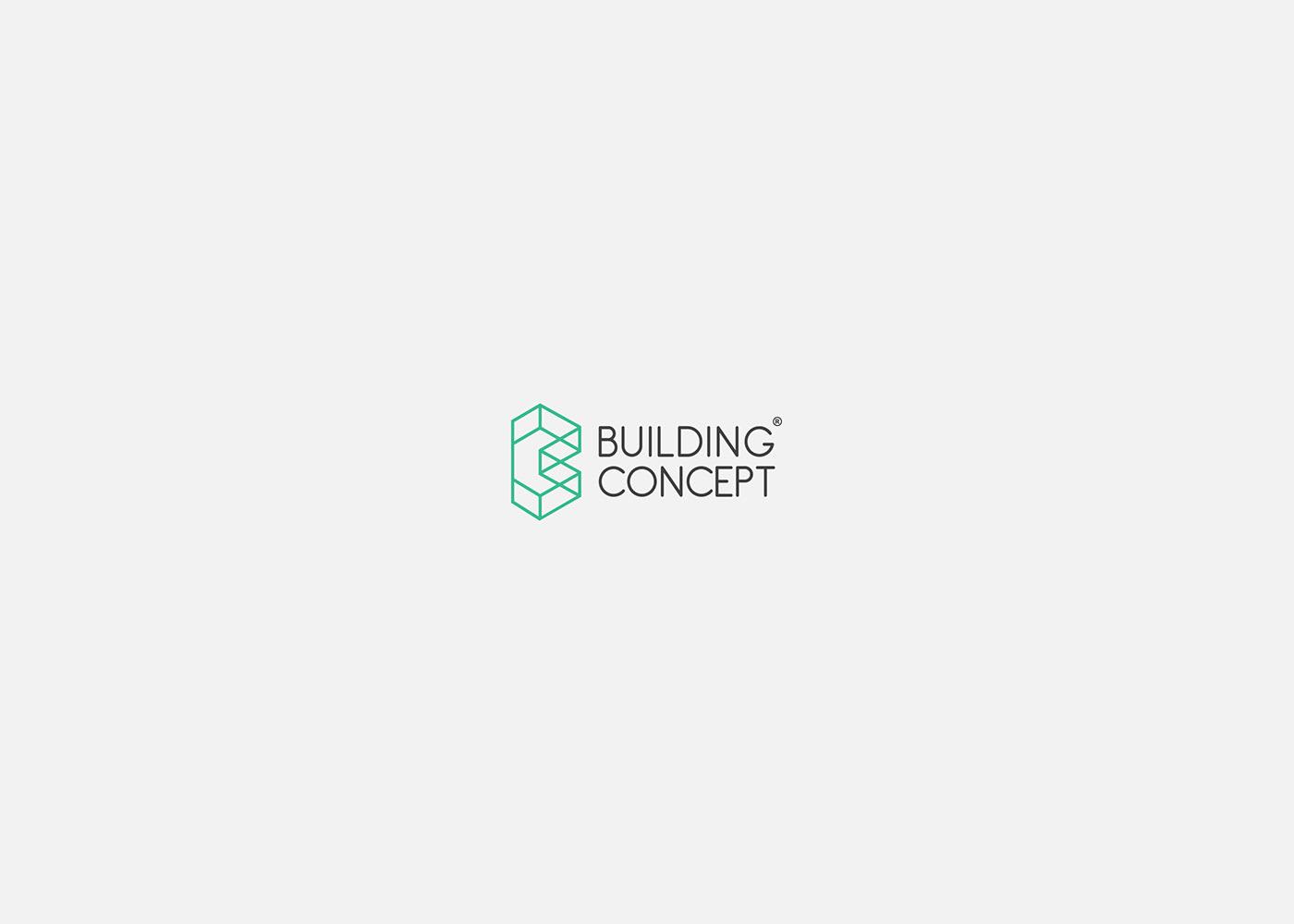 logo type identity typography   print branding  architecture brand stationary green