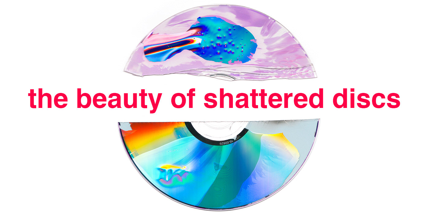 the beauty of shattered discs