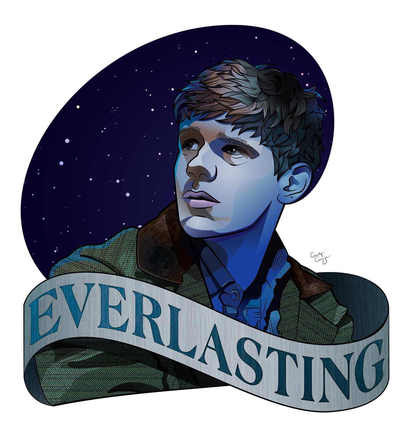 8a0dd6ebb Jesse Tuck (Tuck Everlasting) Vector Art on Behance