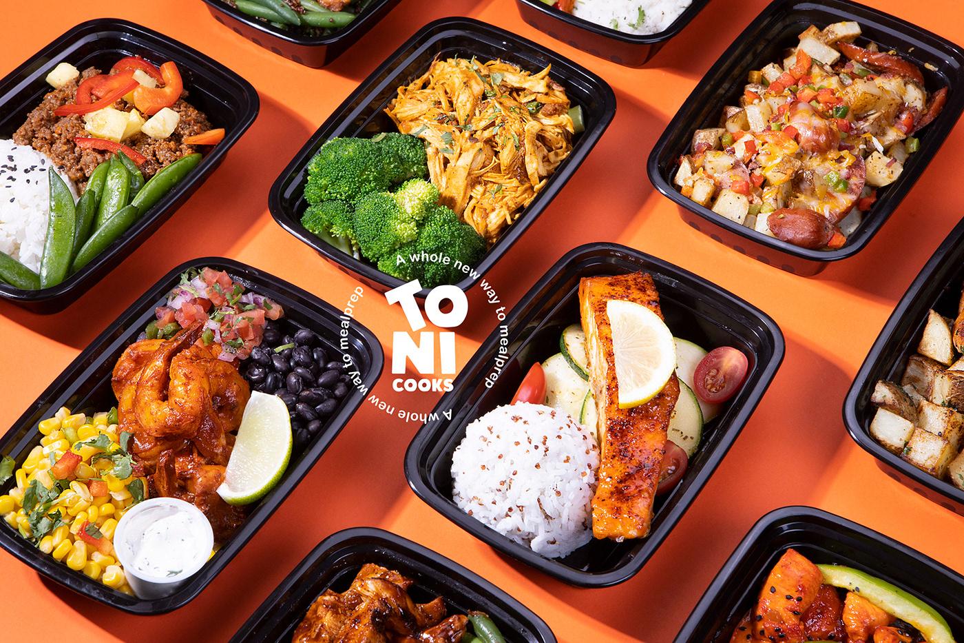 branding  Fast food food delivery Food Packaging healthy healthy food mealprep New York nutrition restaurant
