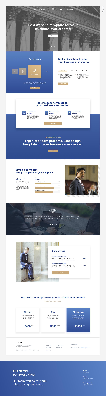 Web UI template student study