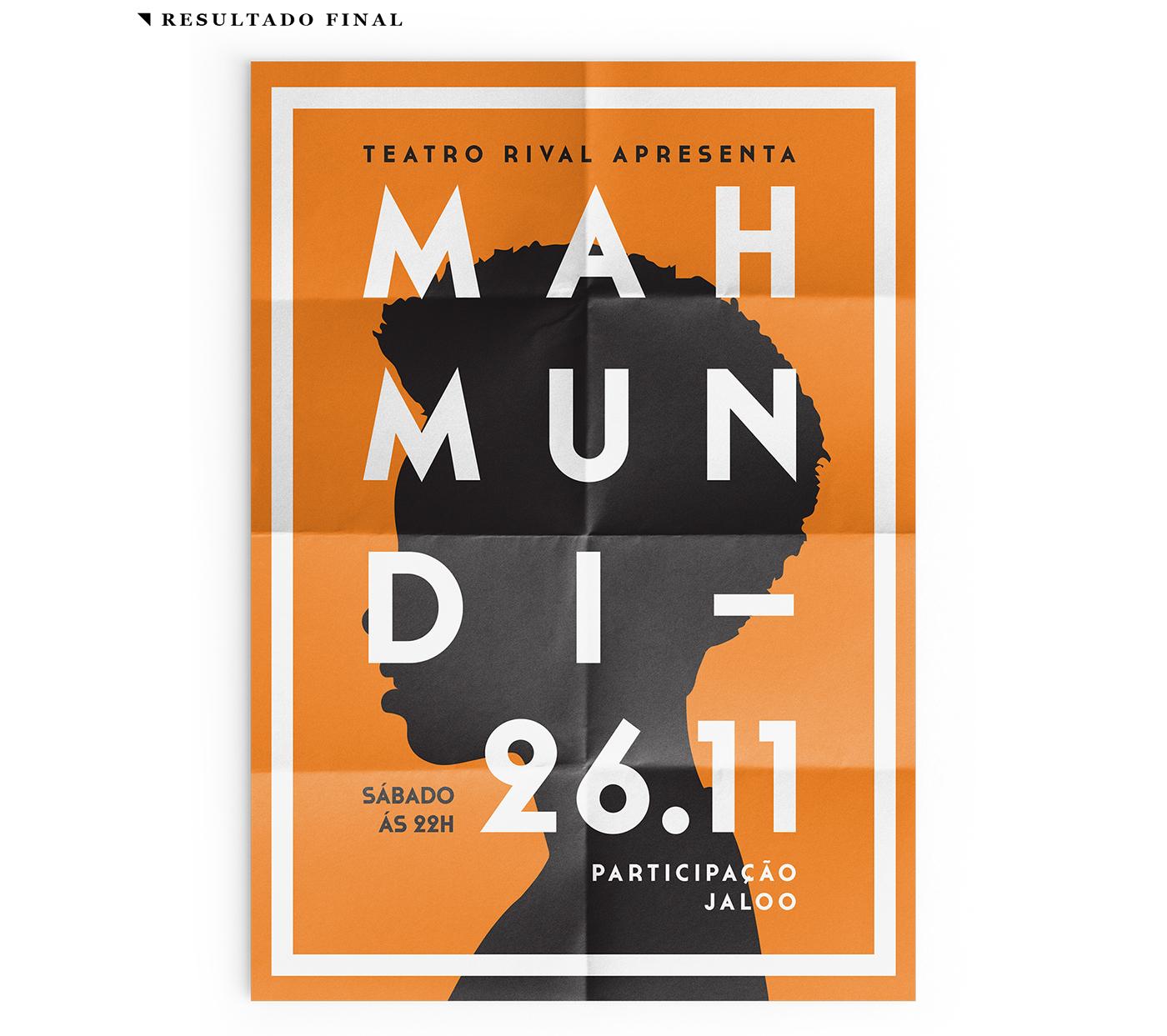 Event poster graphic design  design music