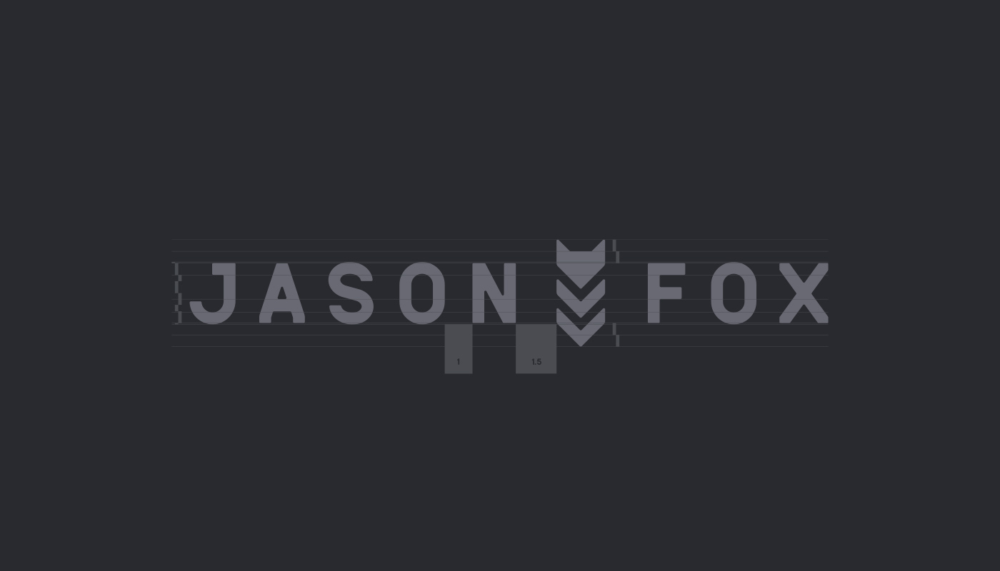 typography   type design branding  Military special forces geometric FOX logo