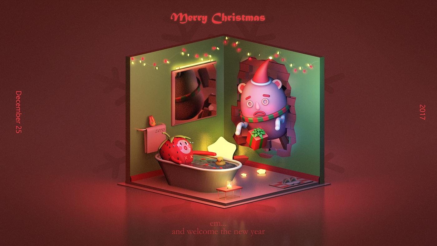 有美感的32款聖誕節圖片欣賞