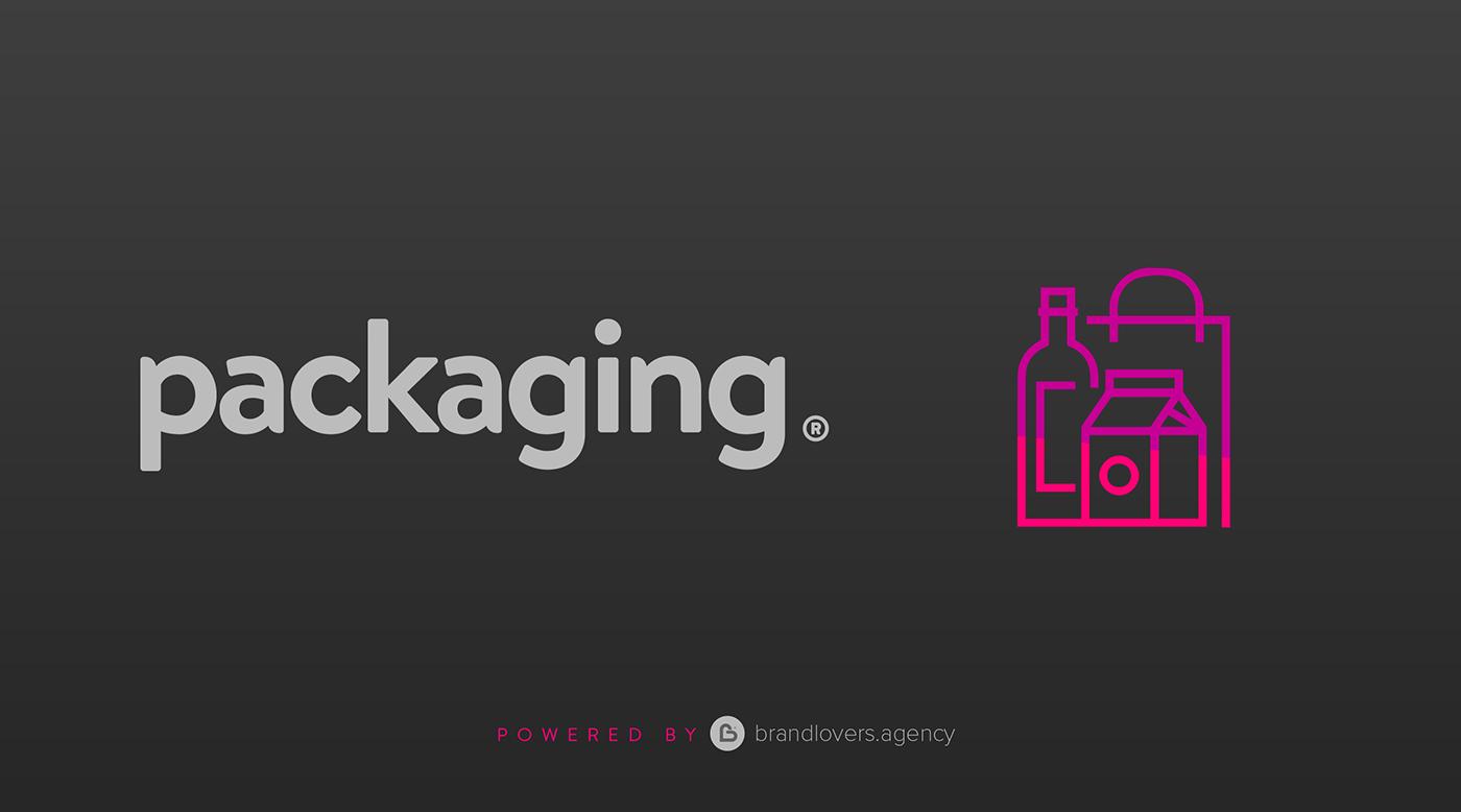 bags labeling Pack Packaging product tools yogurt