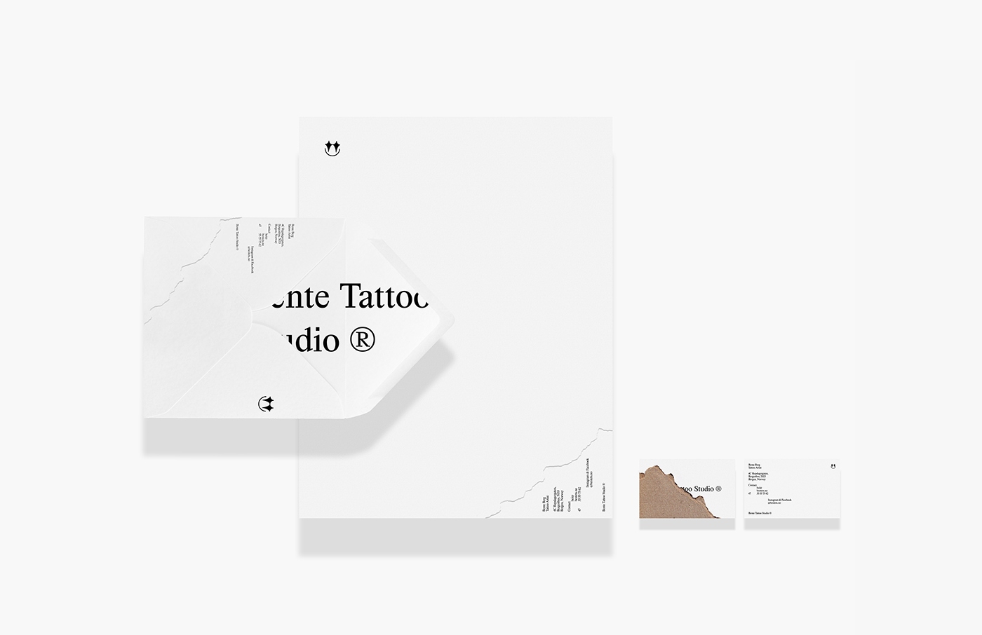 Brand Identity for Bente Tattoo Studio in Norway