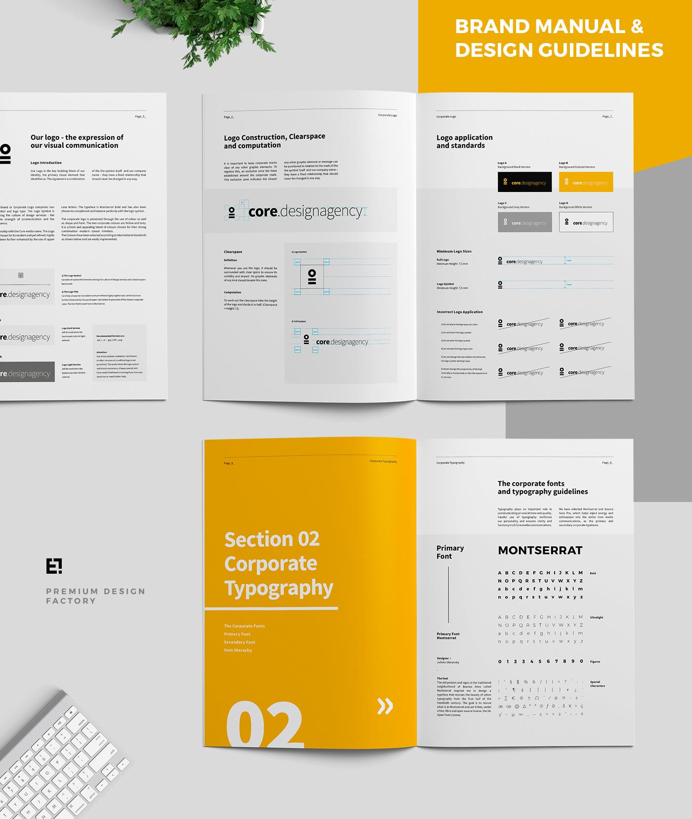 Core Brand Manual  U0026 Guidelines On Behance
