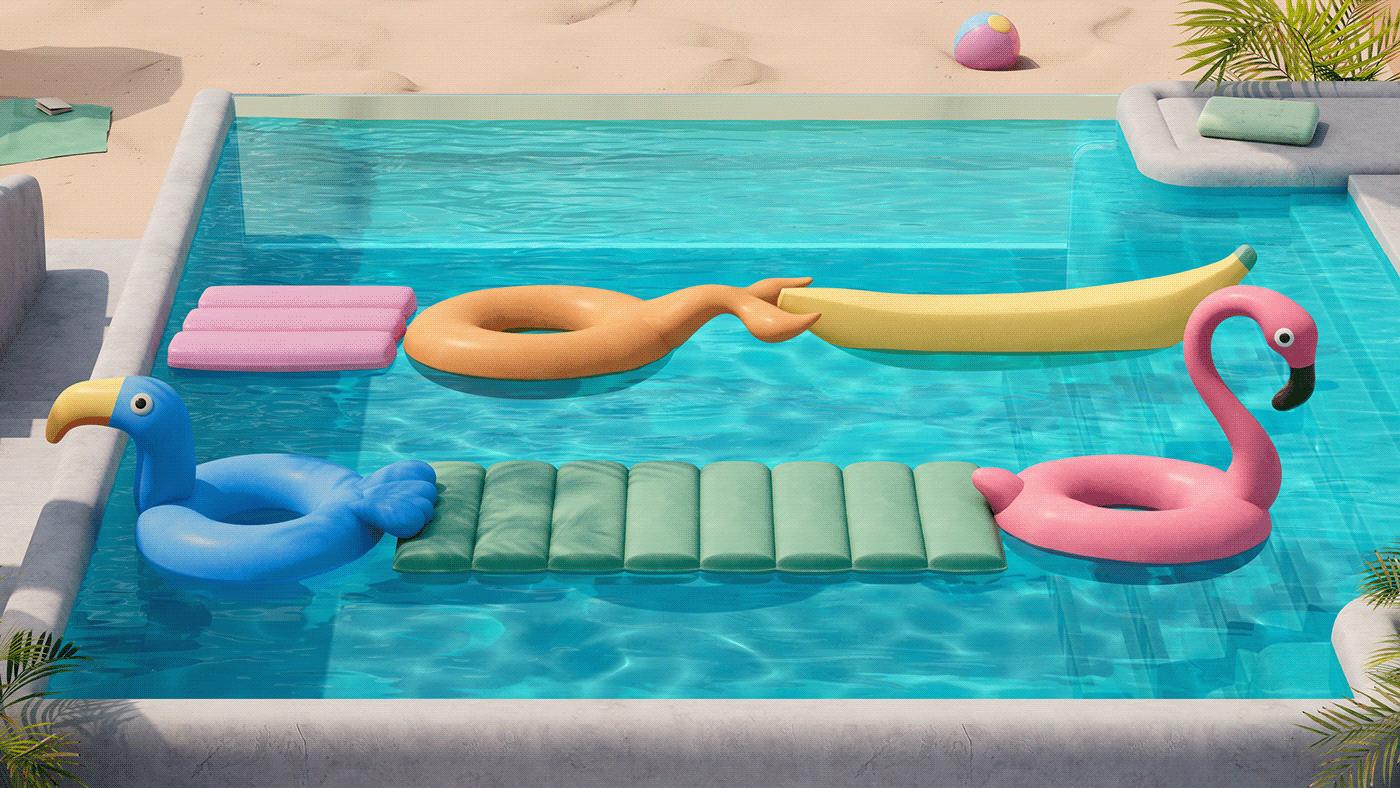 backgrounds design dreamy imaginary Microsoft Microsoft Design pastel Pool video yambo