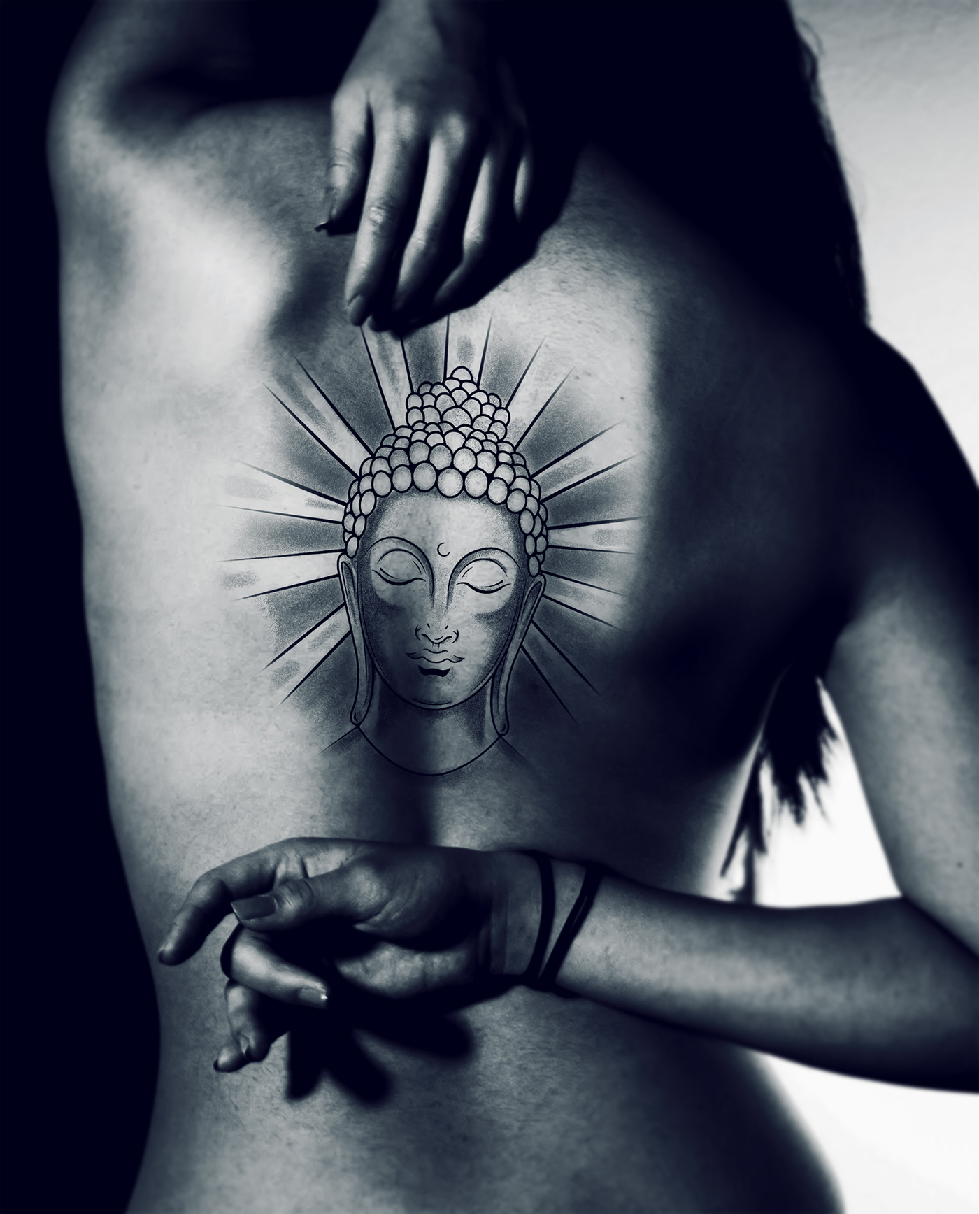 Buddha Tattoo Picture buddha - tattoo design on behance