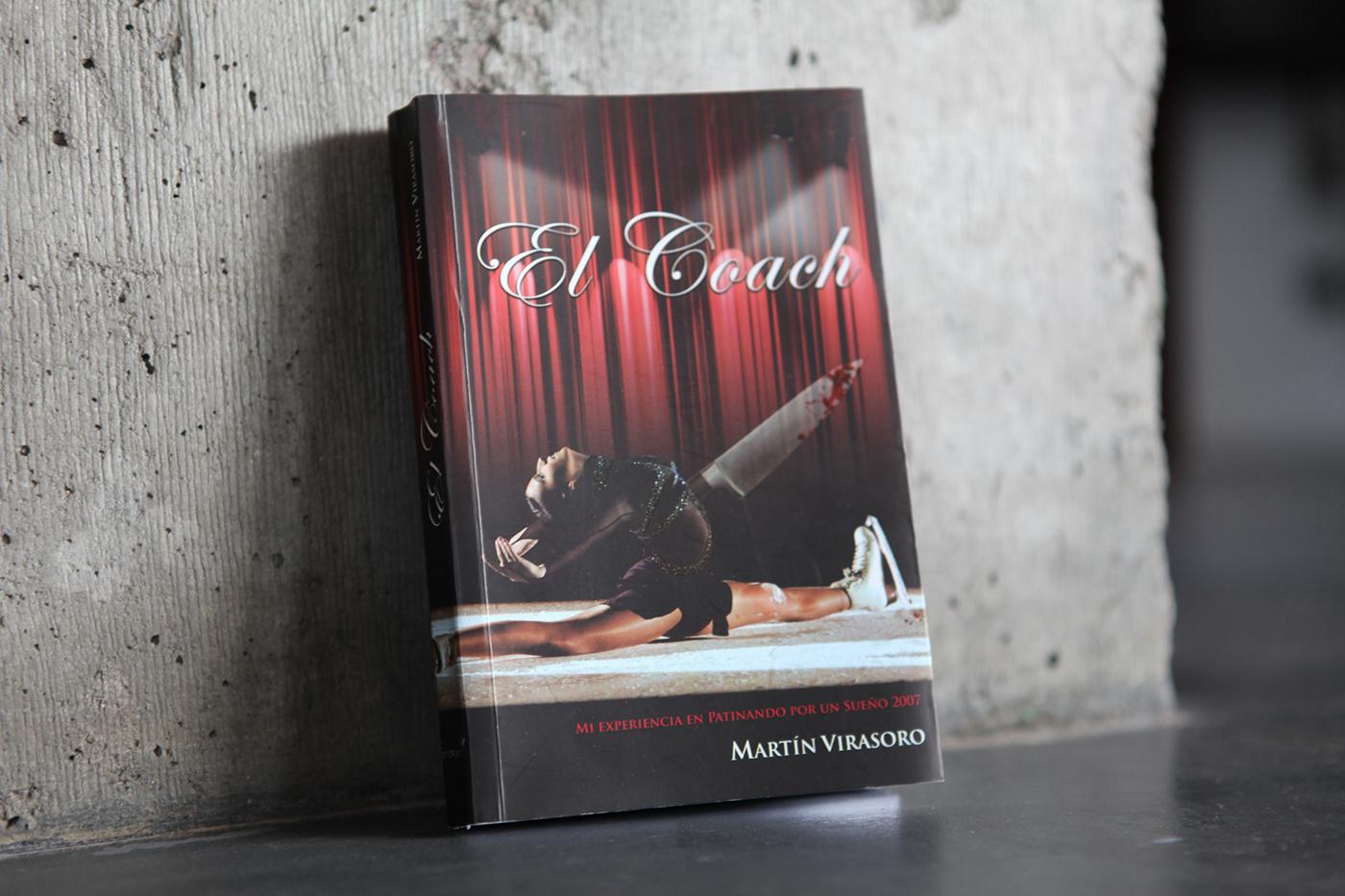 Editorial Design, book el coach