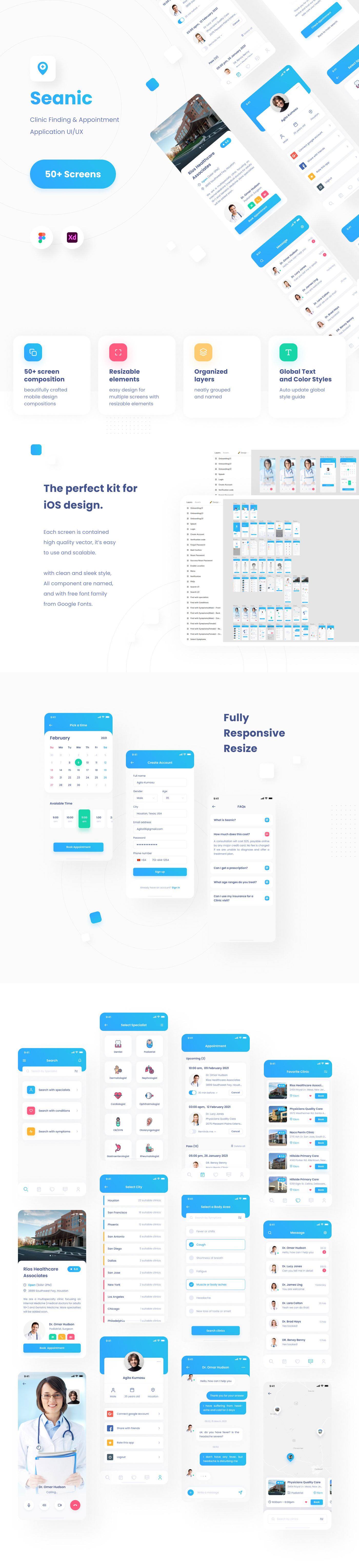 hospital clinic doctor app design Health health care healthcare healthy ui design UX design