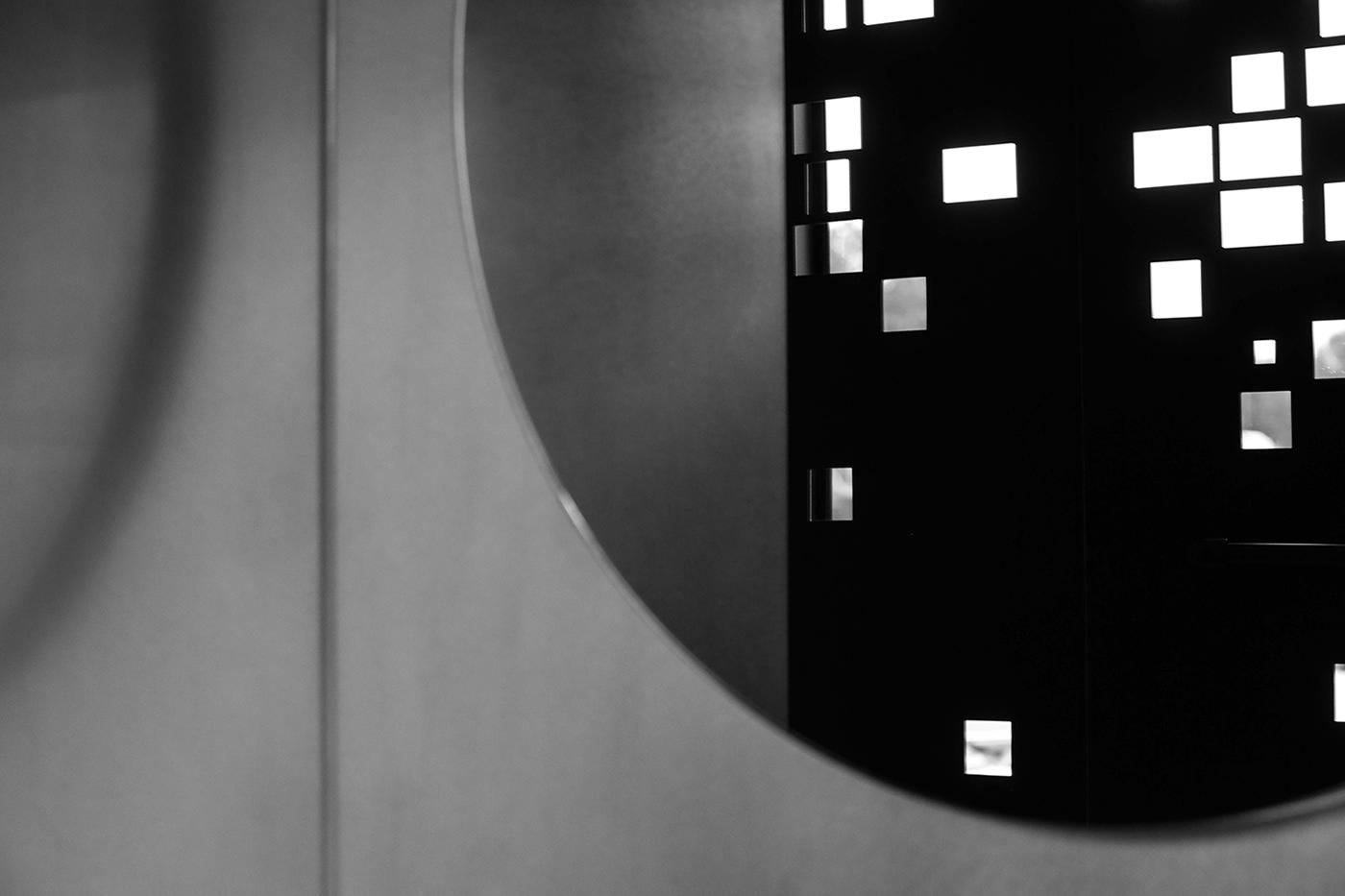 Wandspiegel Onyx Badezimmereinrichtung Projekt by Nobla Innenarchitekt
