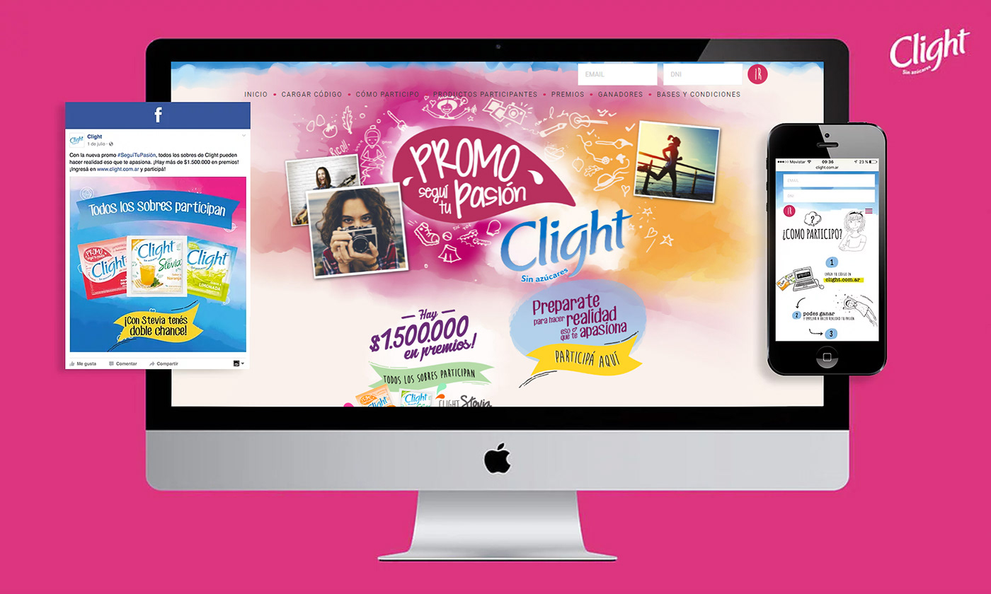 banner campaign design digital interactive Interface site social media ux Website