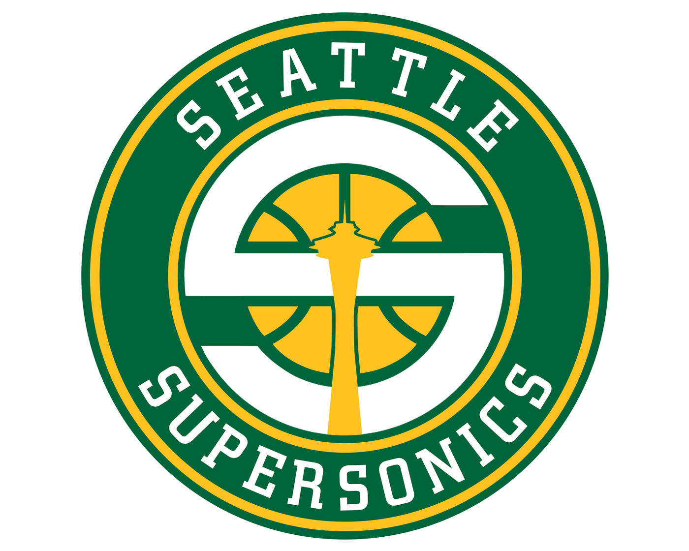 Seattle Supersonics Mock Rebrand On Behance