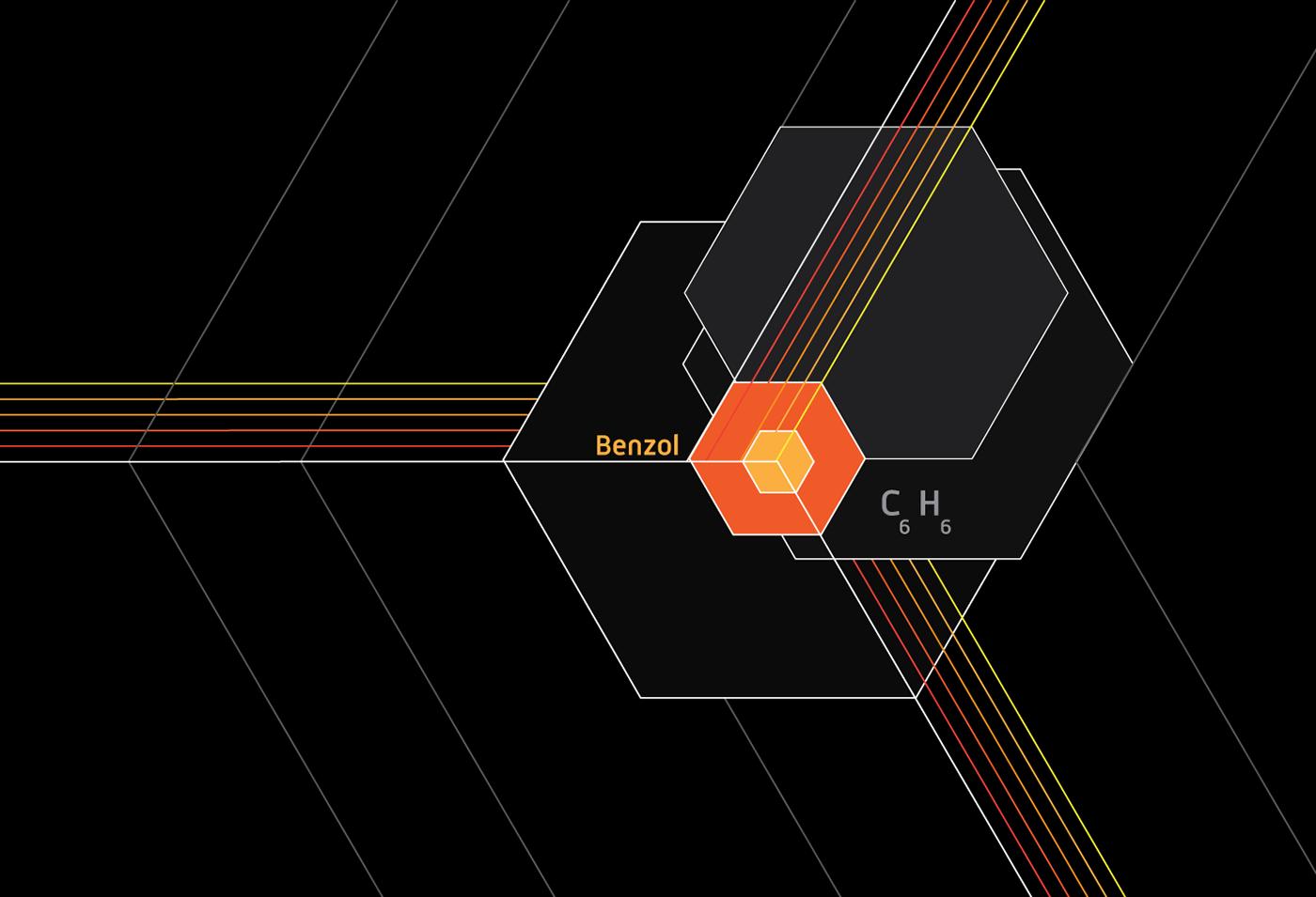 benzol martin mele diseño gráfico brand