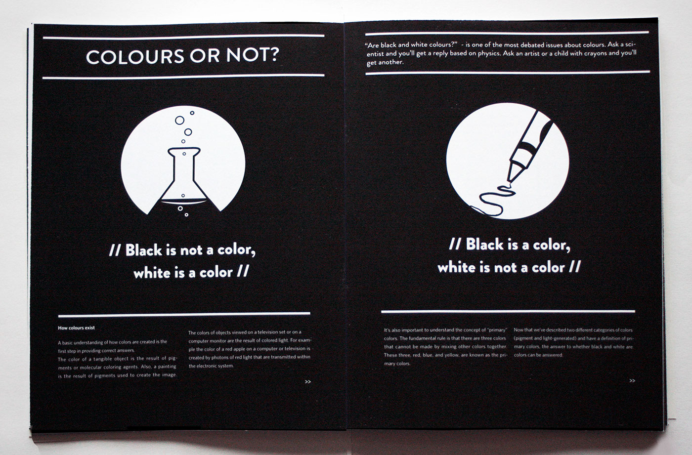 black and white flyers