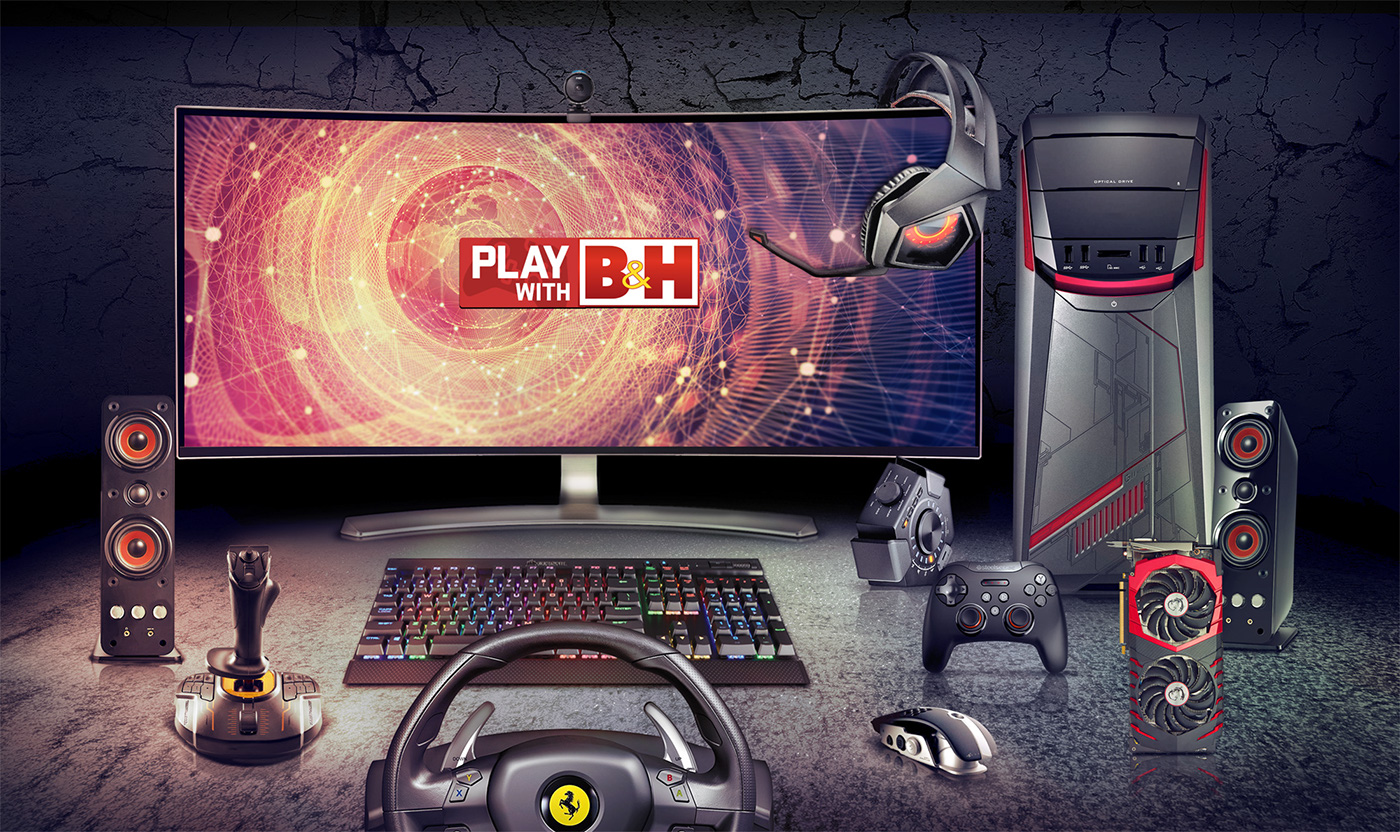 Play with B&H B&H Twitch