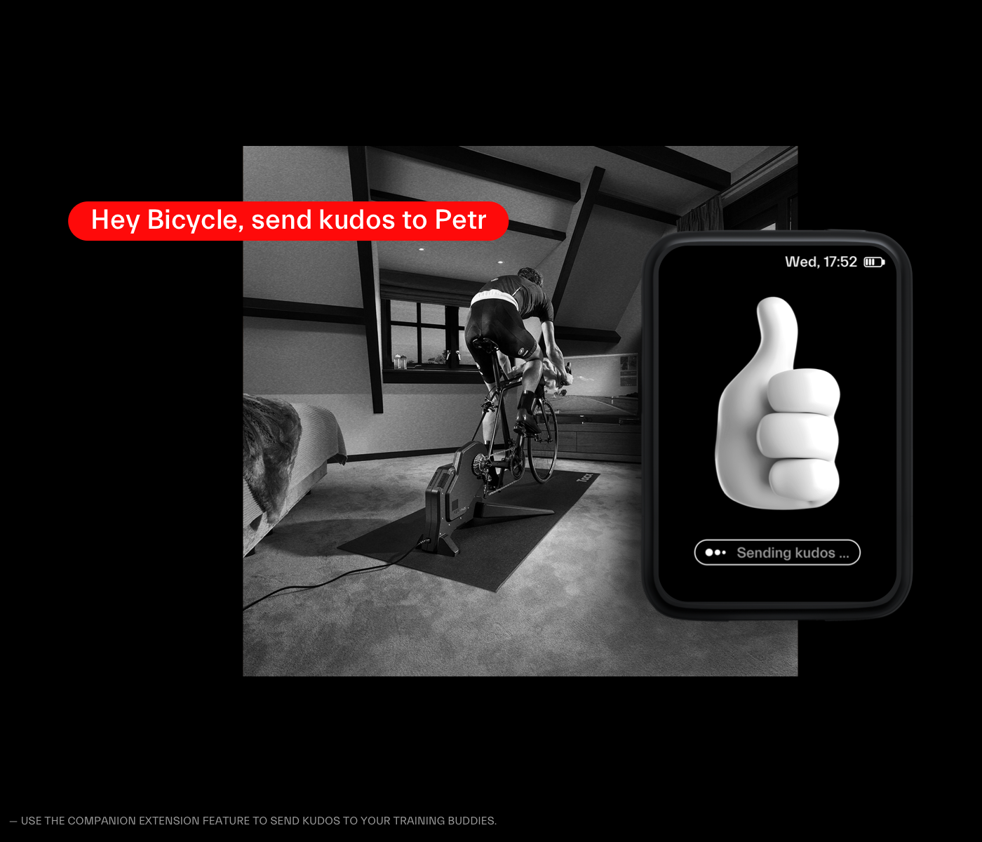 Bicycle CaseStudy fitness ux voice interface vui concept user experience