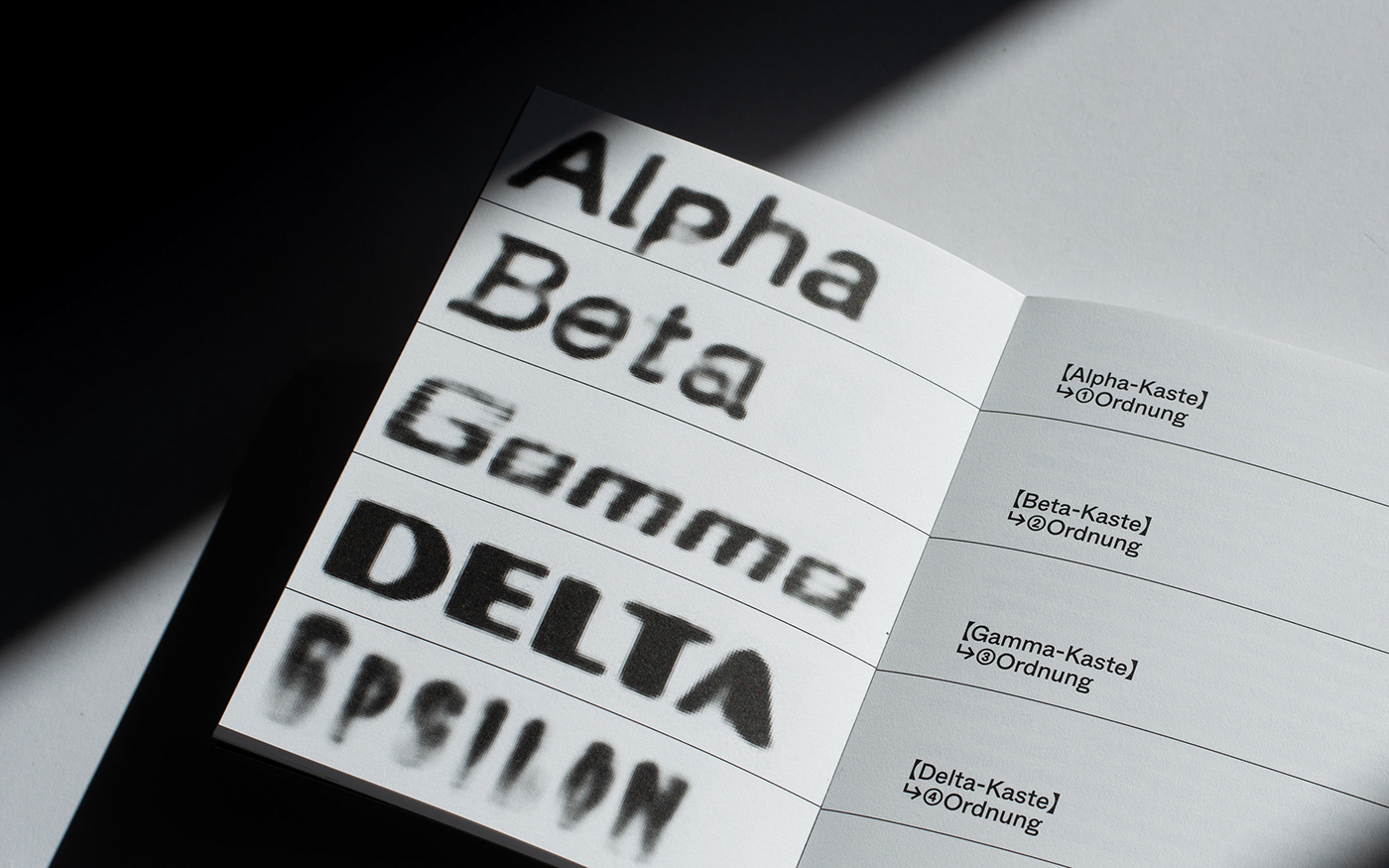 Alpha Epsilon, Artificial Intelligence Fonts
