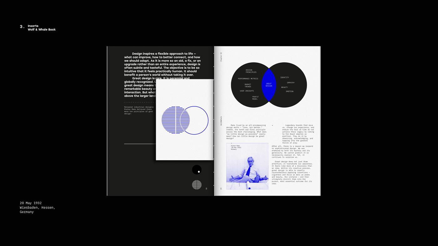 art blue book conceptual design digital disruptive modern print publishing