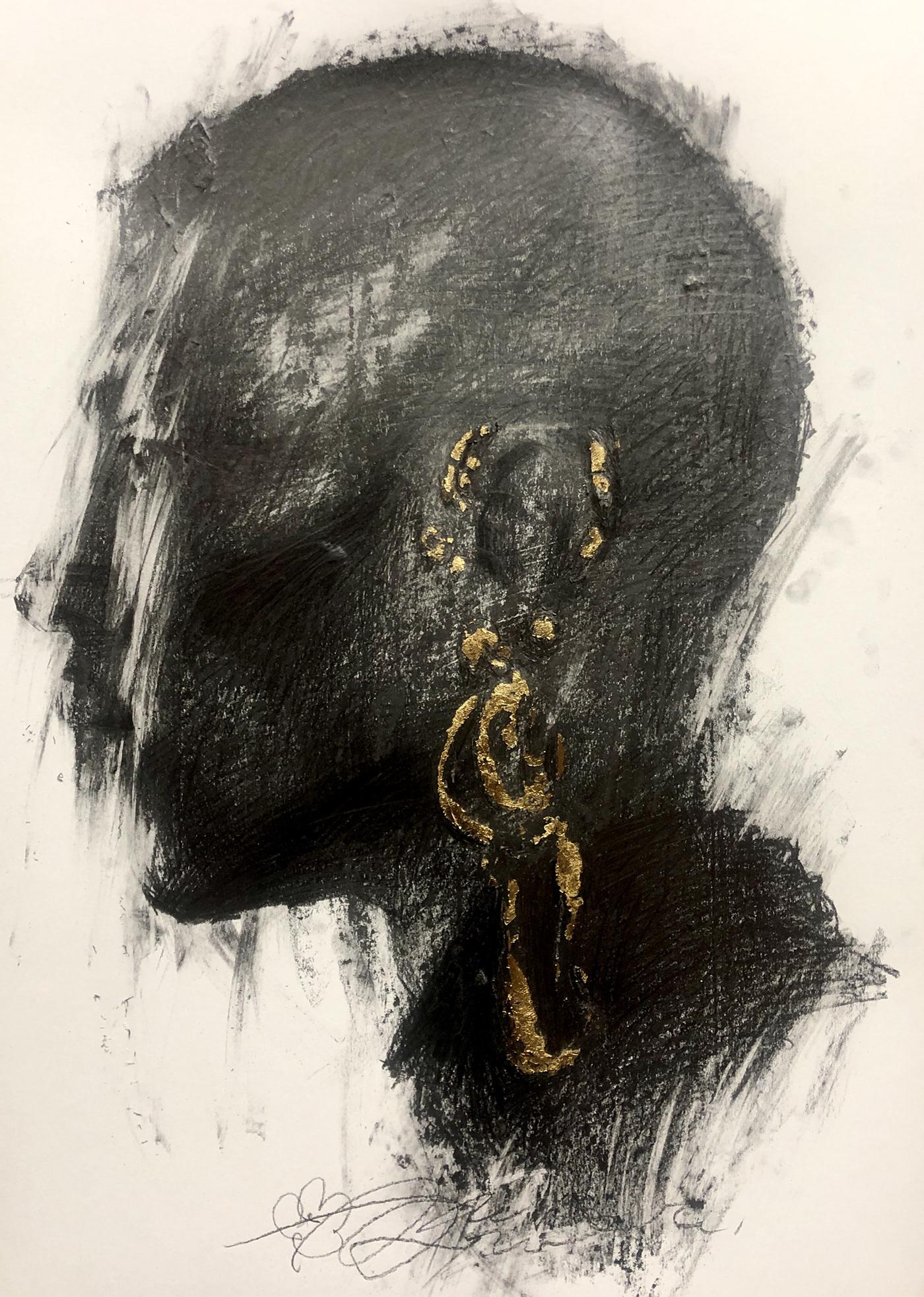 artwork body Drawing  emotion face FINEART girls image line man model paper