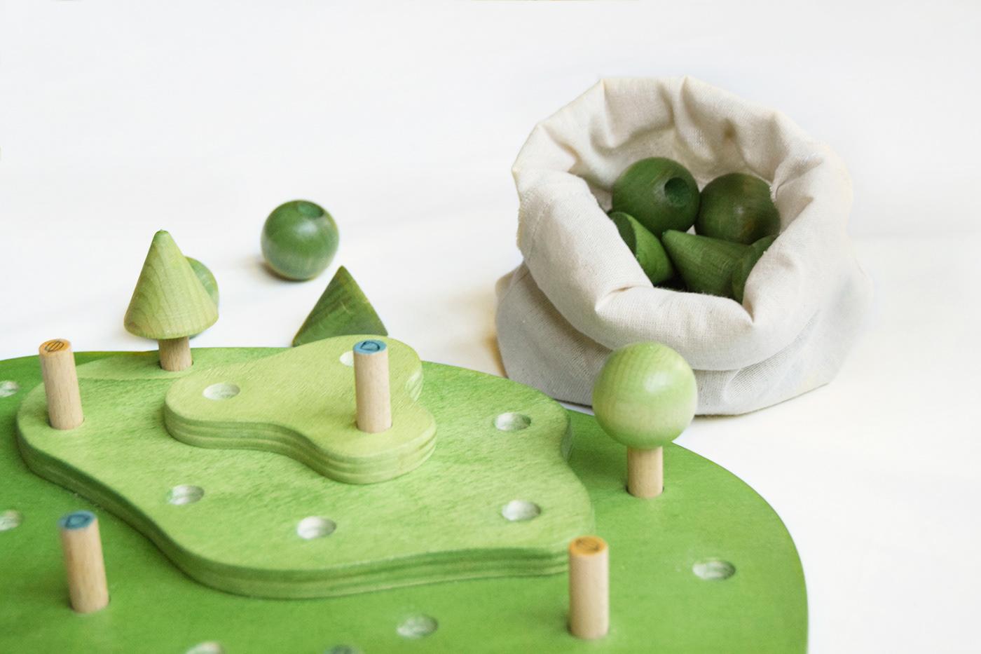 diseño juego de mesa madera naturaleza producto sostenibilidad Sustainability