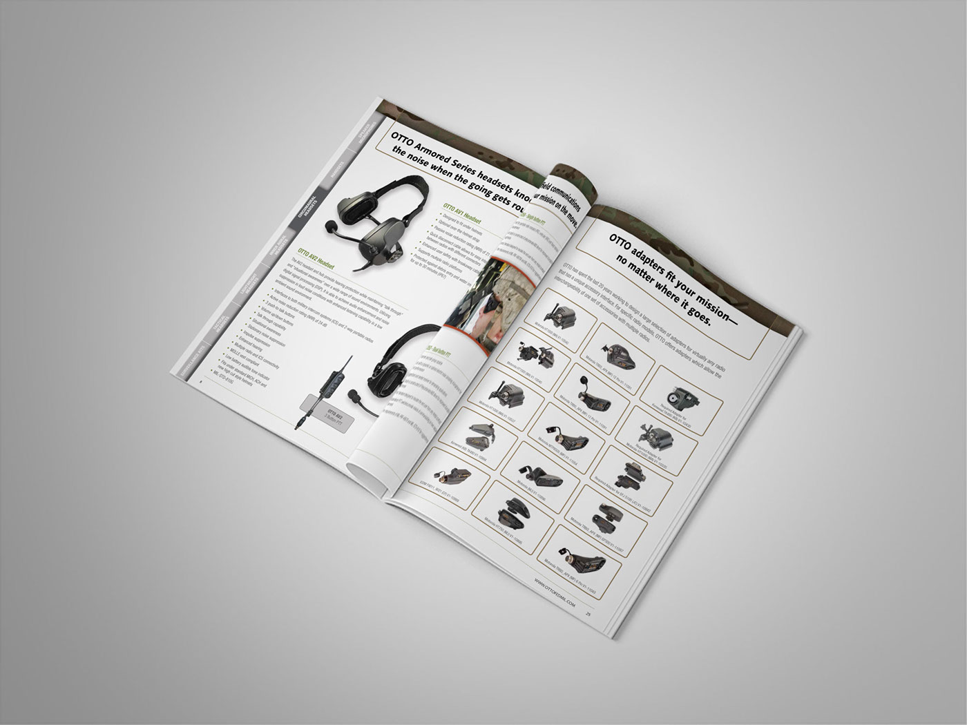 Otto Engineering Catalog On Behance Headset Wiring Diagram Thank You