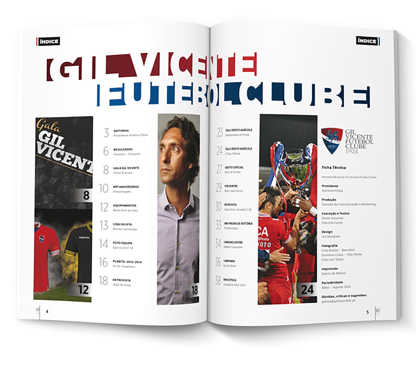 gvfc gilista N4 gil gil vicente FC sport football futebol soccer magazine clube Barcelos revista