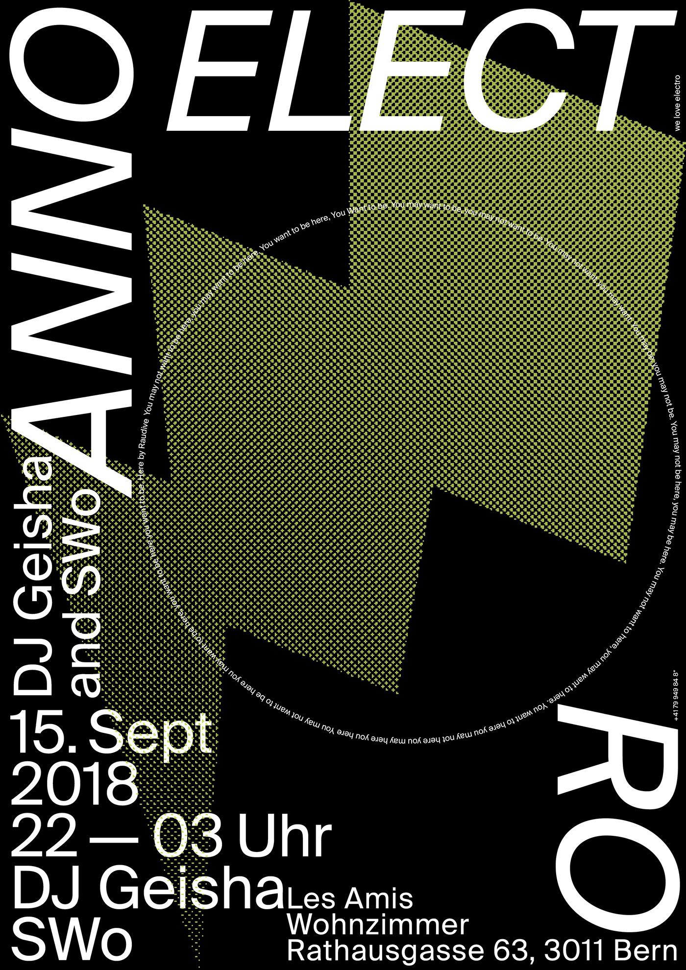 design art poster typography   ArtDirection flyer branding  print visual music