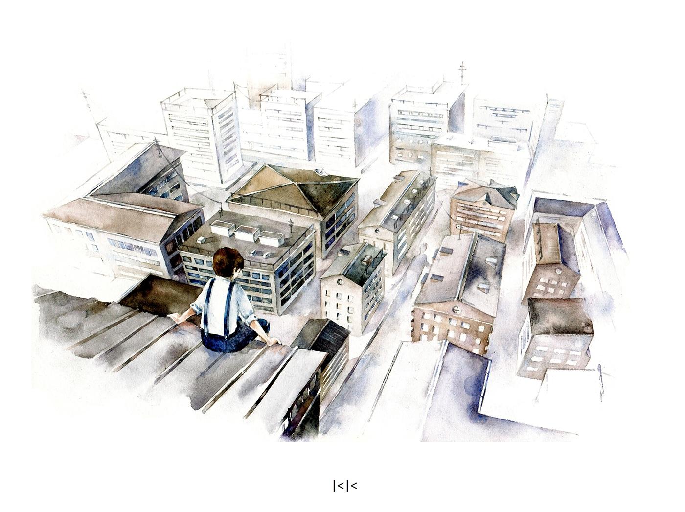 細緻的32個街景速寫欣賞