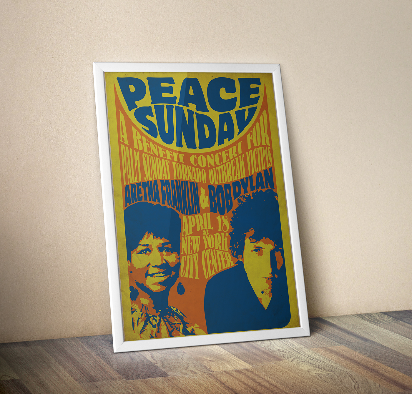 the 1960s concert poster on behance
