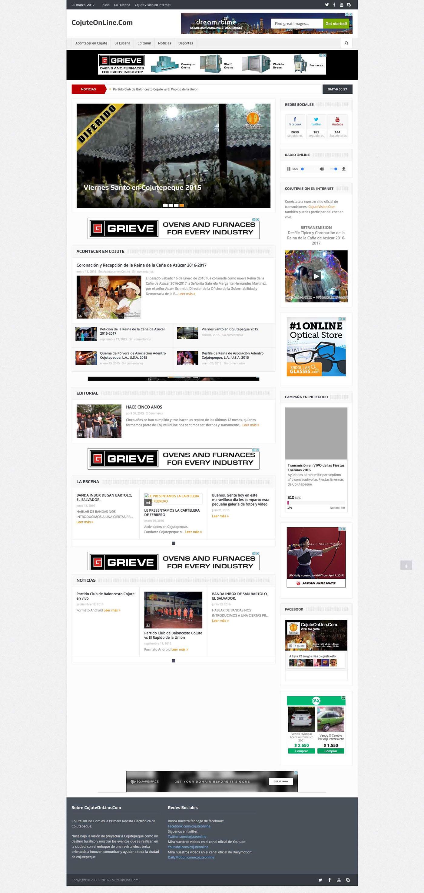 cojute online Web Design  wordpress cyg computadoras Cerritos